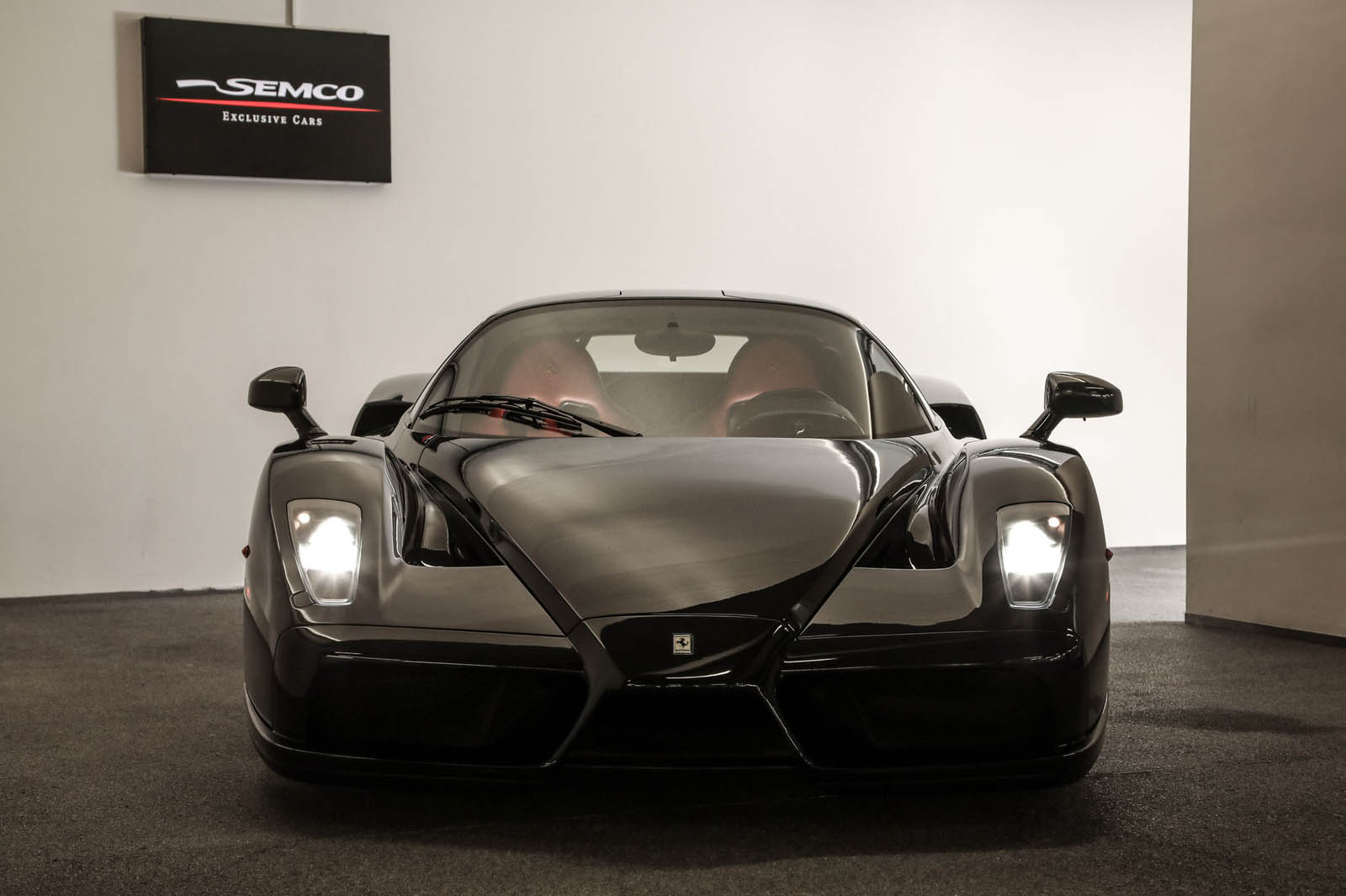 Black Ferrari Enzo for sale (6)