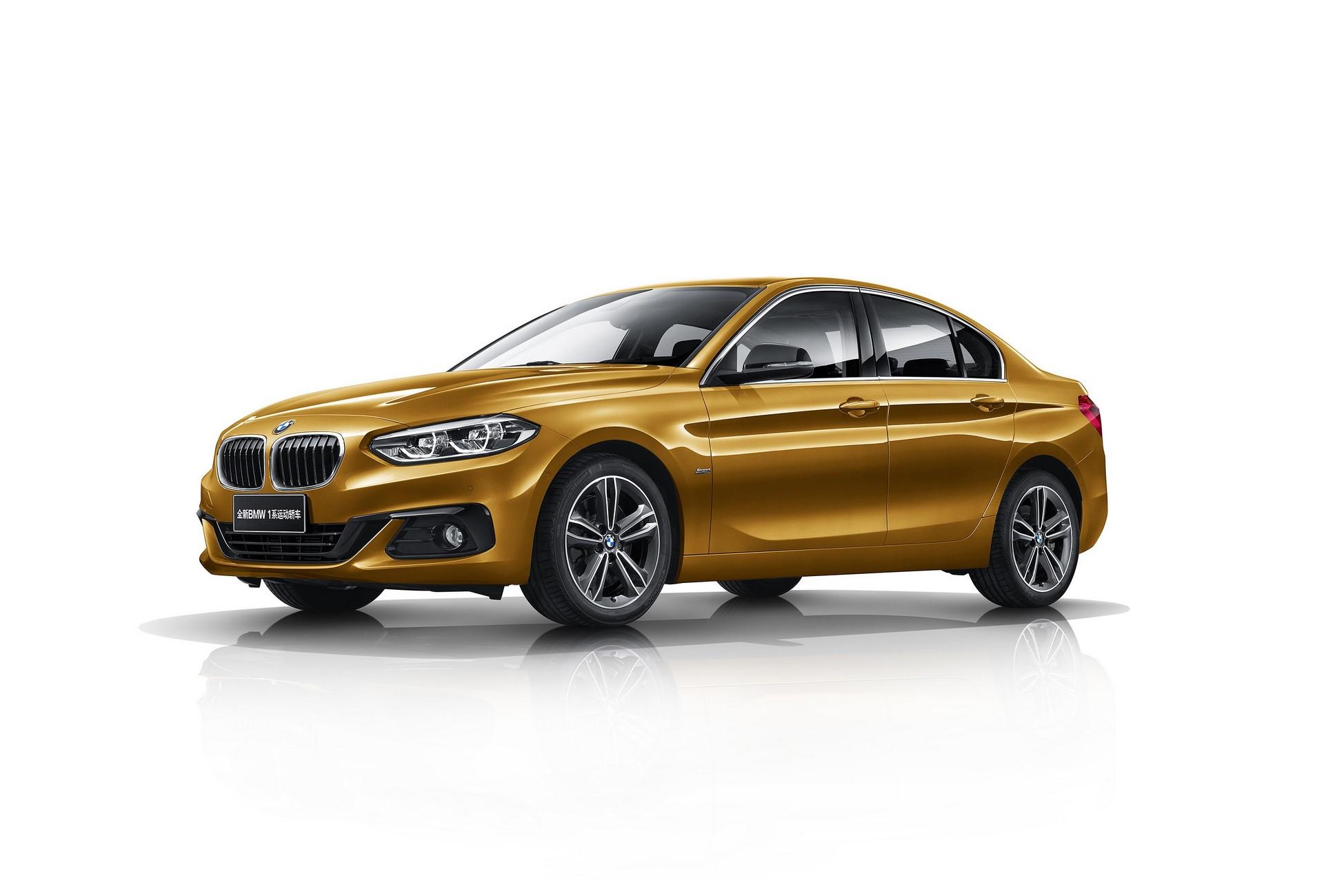 BMW 1-Series Sedan 2017 (1)