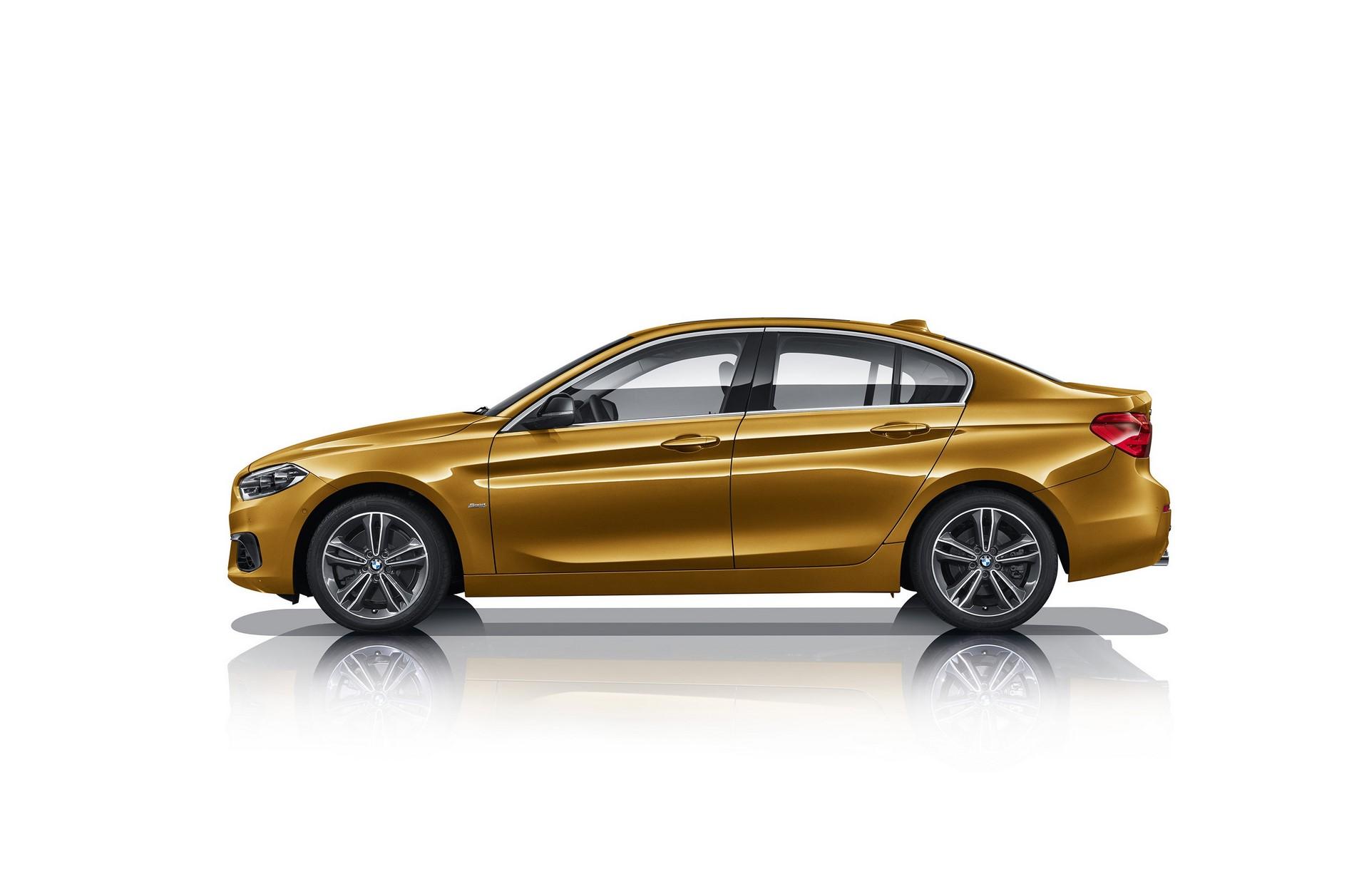 BMW 1-Series Sedan 2017 (2)