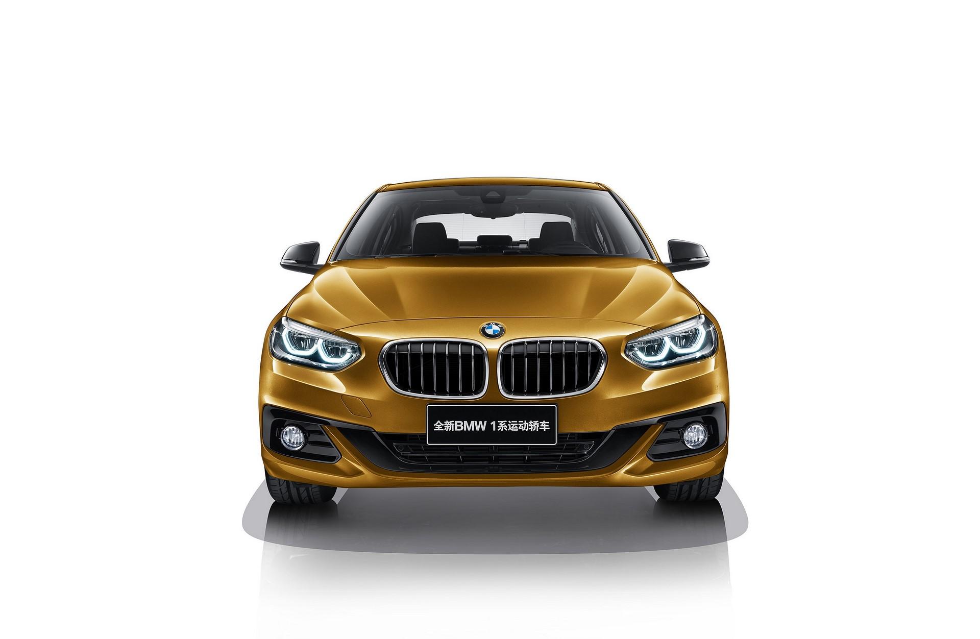 BMW 1-Series Sedan 2017 (4)