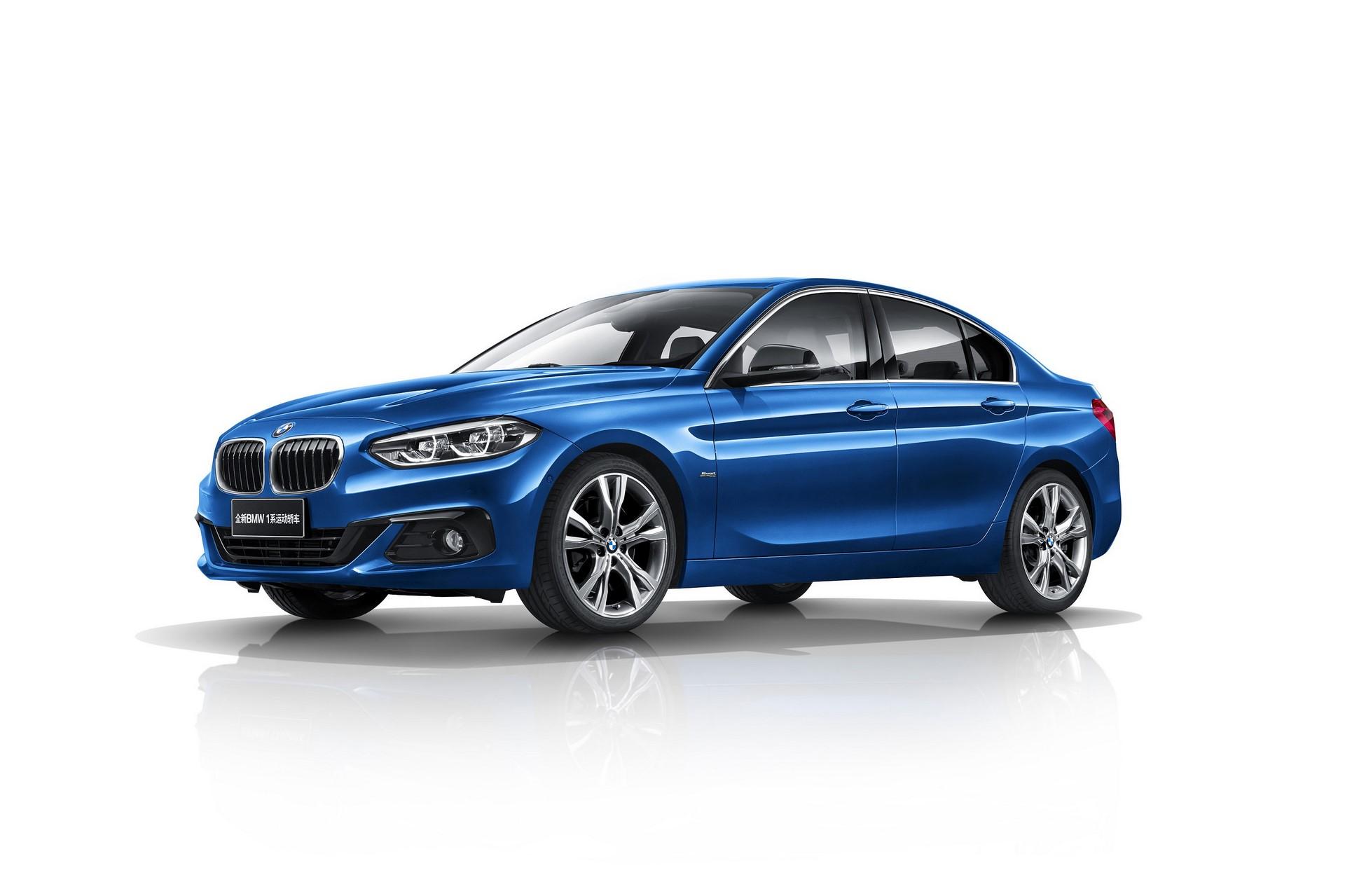 BMW 1-Series Sedan 2017 (7)