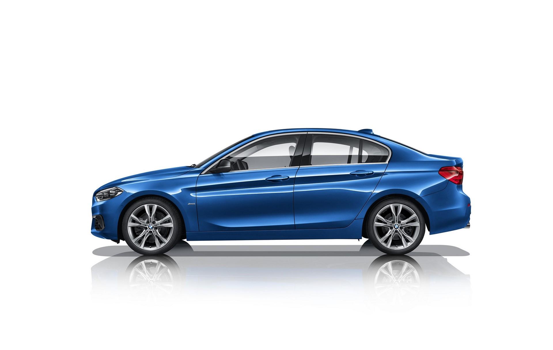 BMW 1-Series Sedan 2017 (8)