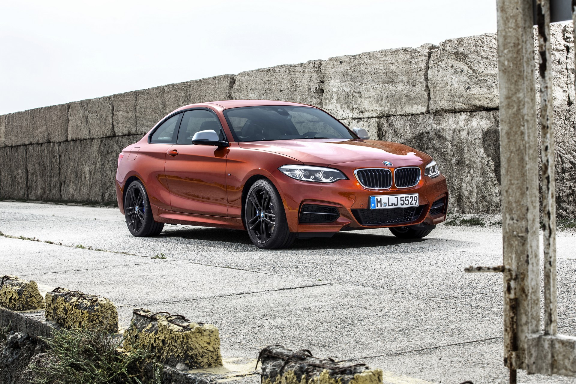 BMW 2-Series Facelift 2018 (10)