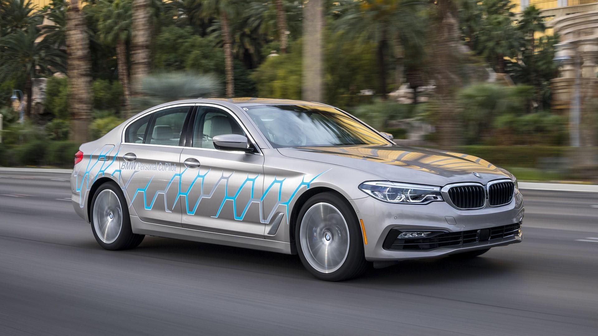 BMW 5 Series Autonomous Prototype (1)