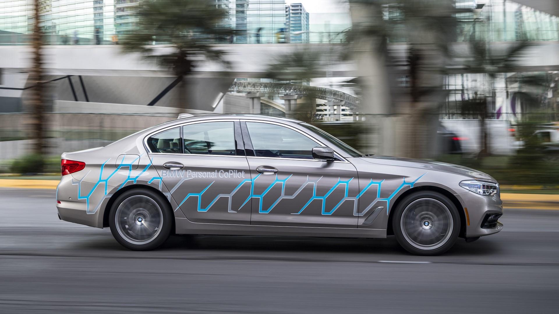 BMW 5 Series Autonomous Prototype (2)
