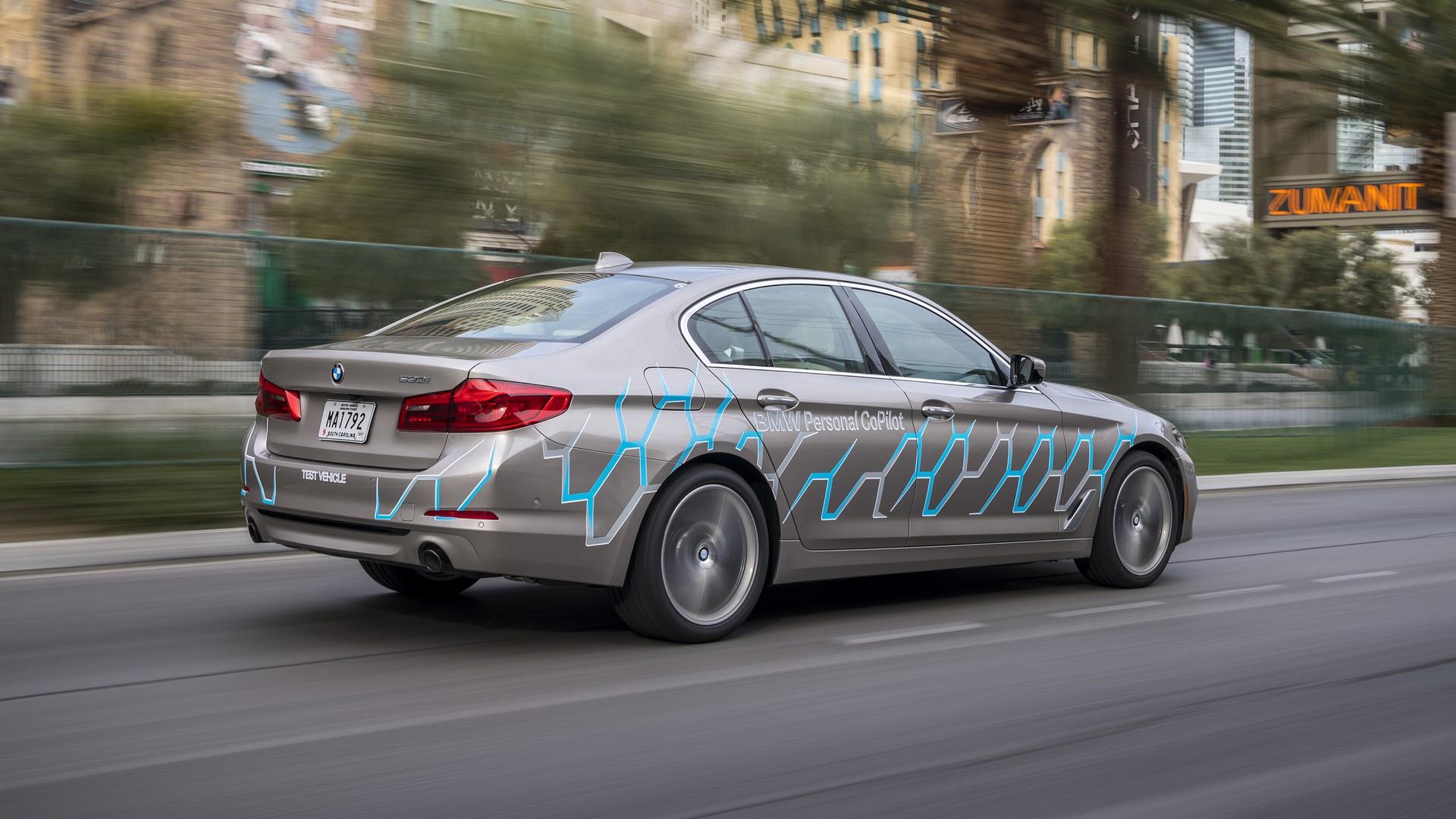 BMW 5 Series Autonomous Prototype (3)