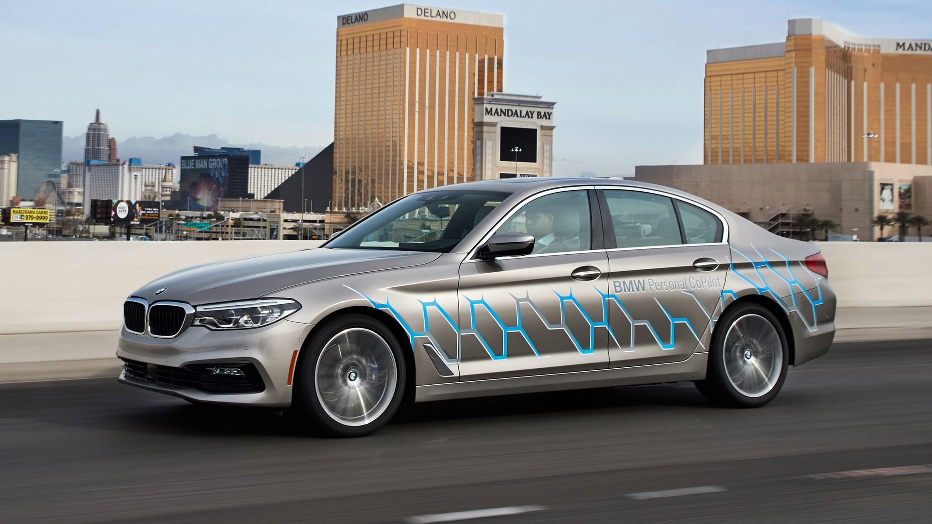 BMW 5 Series Autonomous Prototype (4)