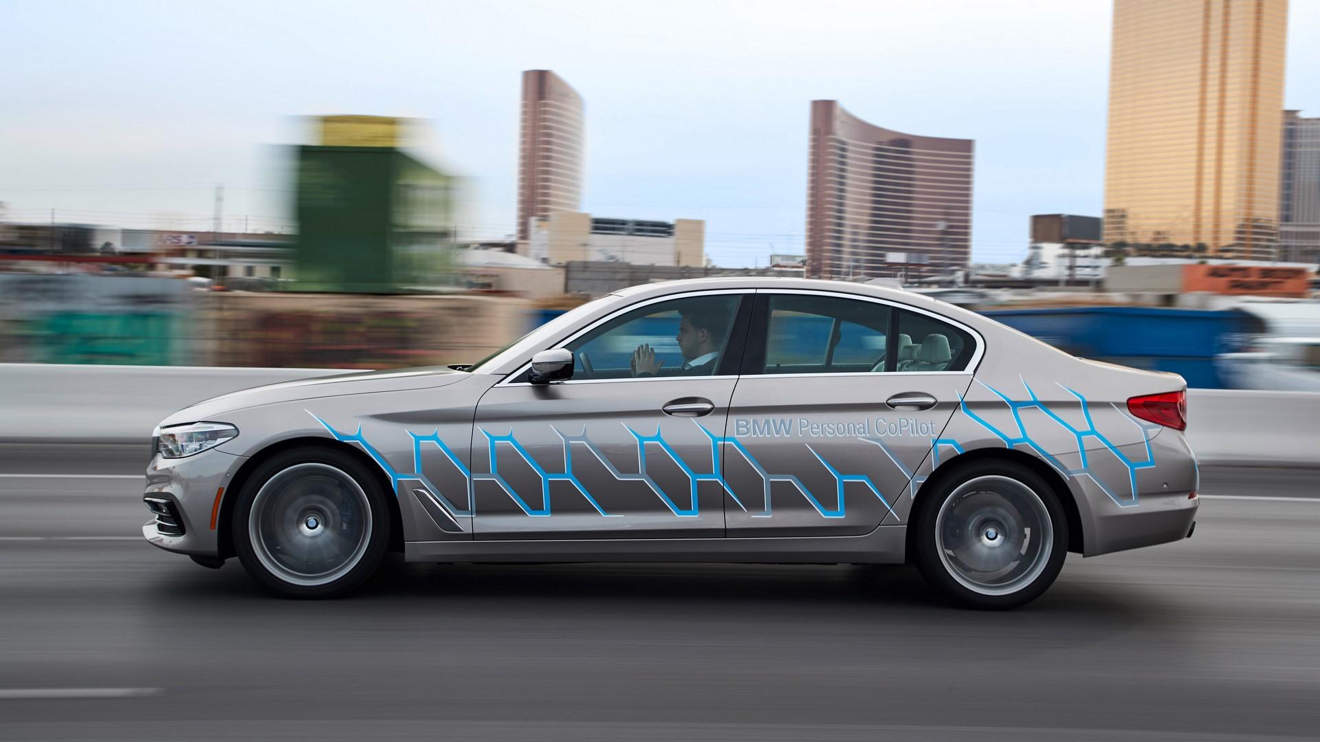 BMW 5 Series Autonomous Prototype (5)