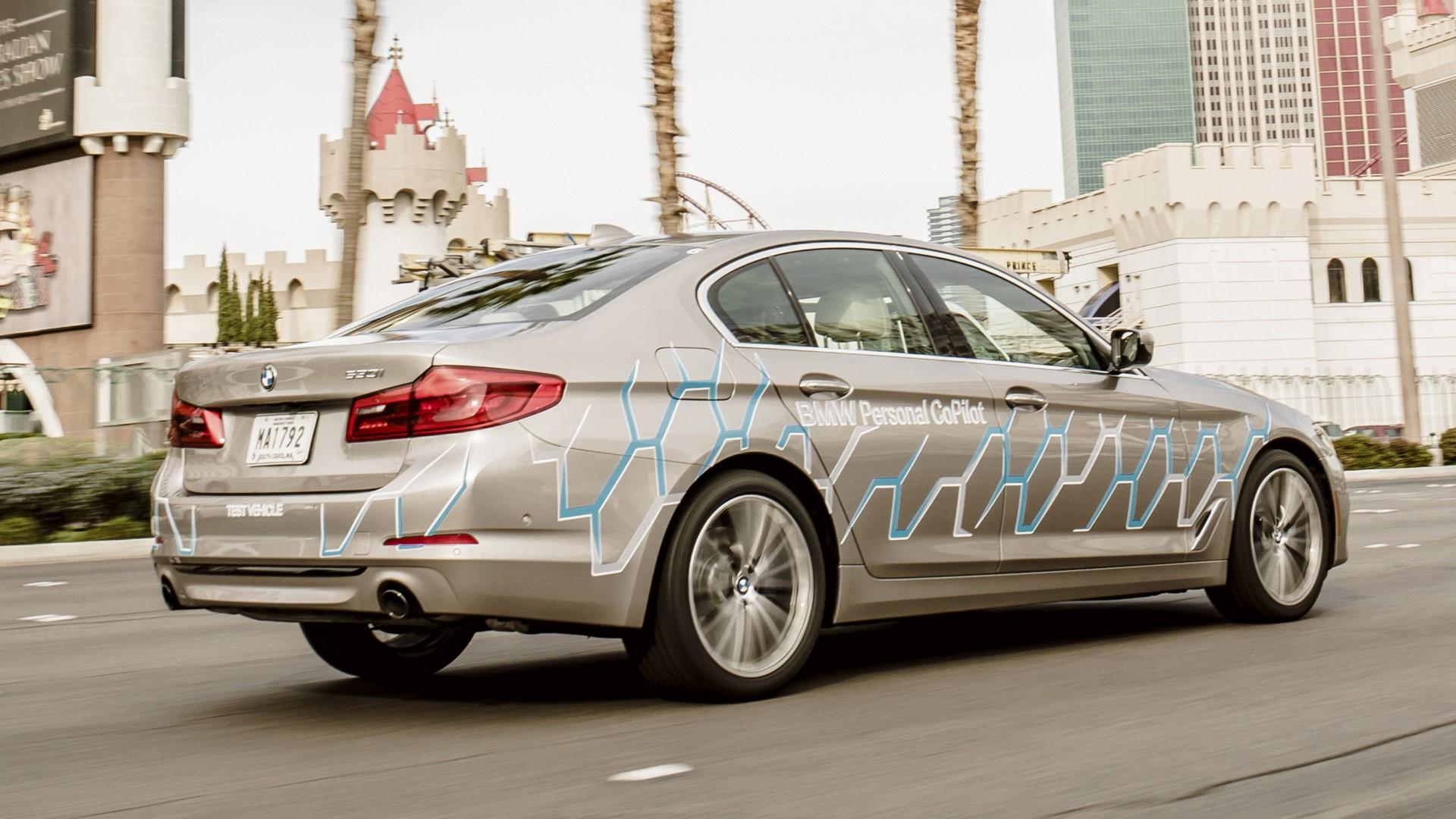 BMW 5 Series Autonomous Prototype (7)