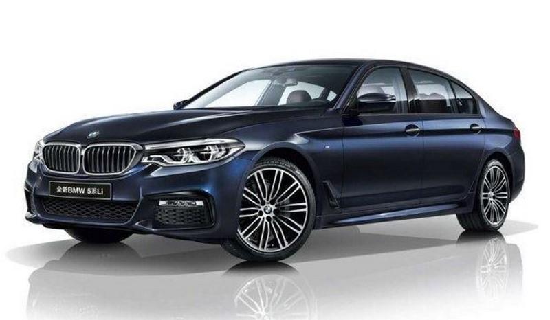 BMW 5-Series Li 2017 (1)