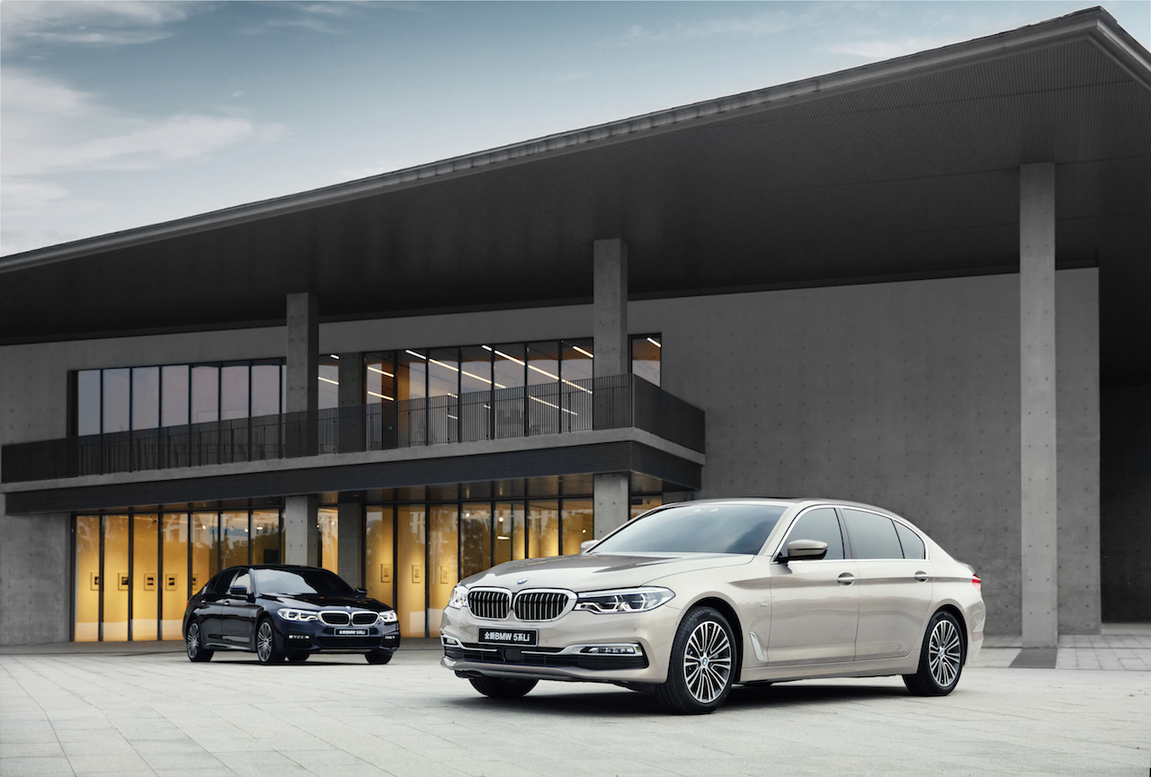 BMW 5-Series Long Wheelbase 2018 (29)