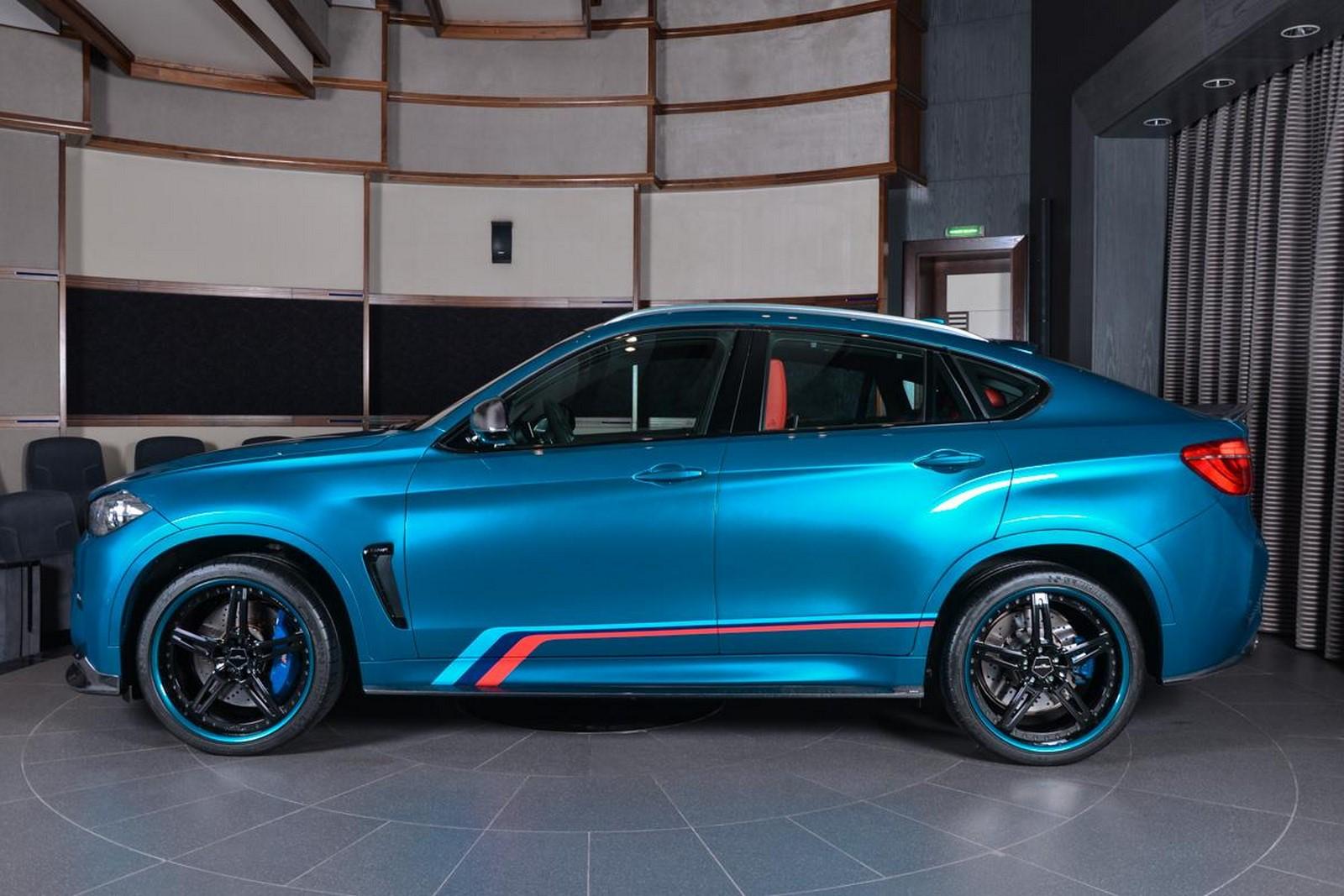BMW Abu Dhabi X6M-6