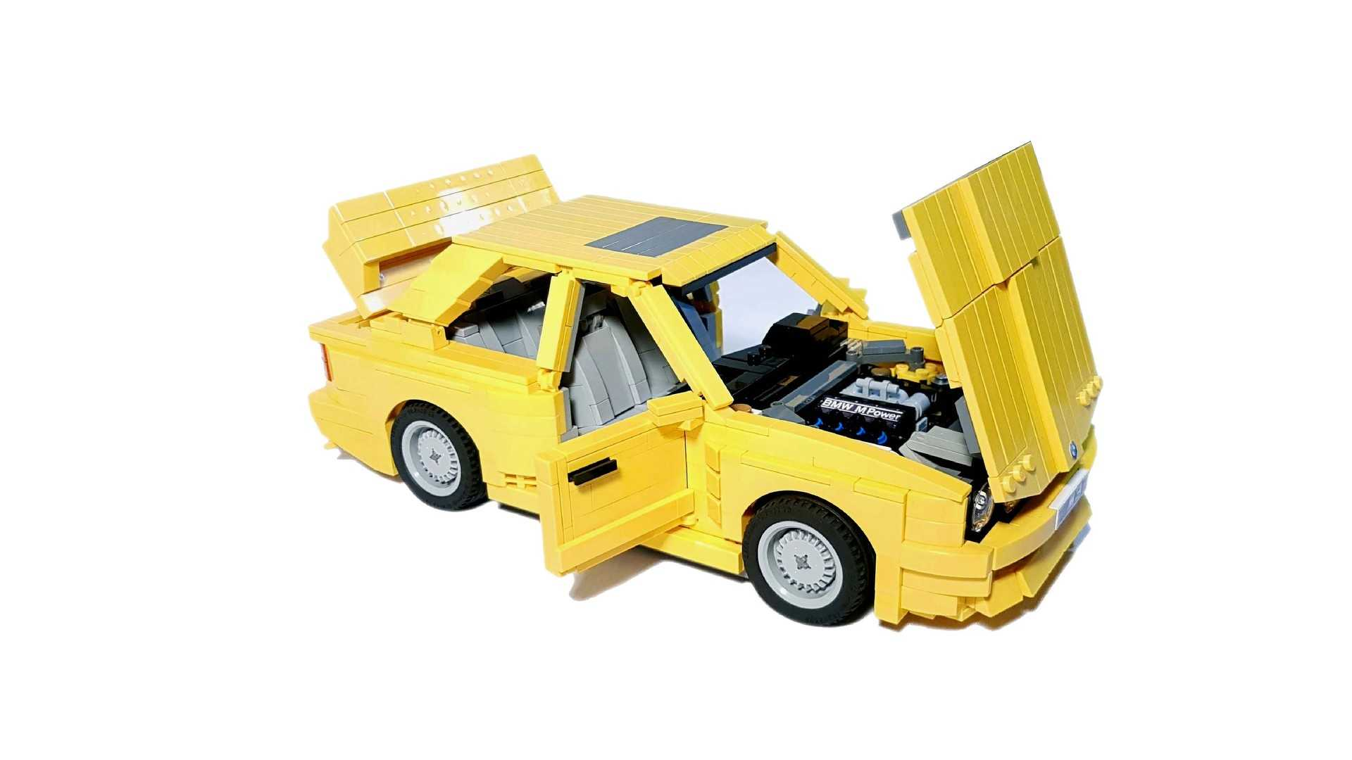 BMW E30 M3 Lego Ideas (21)