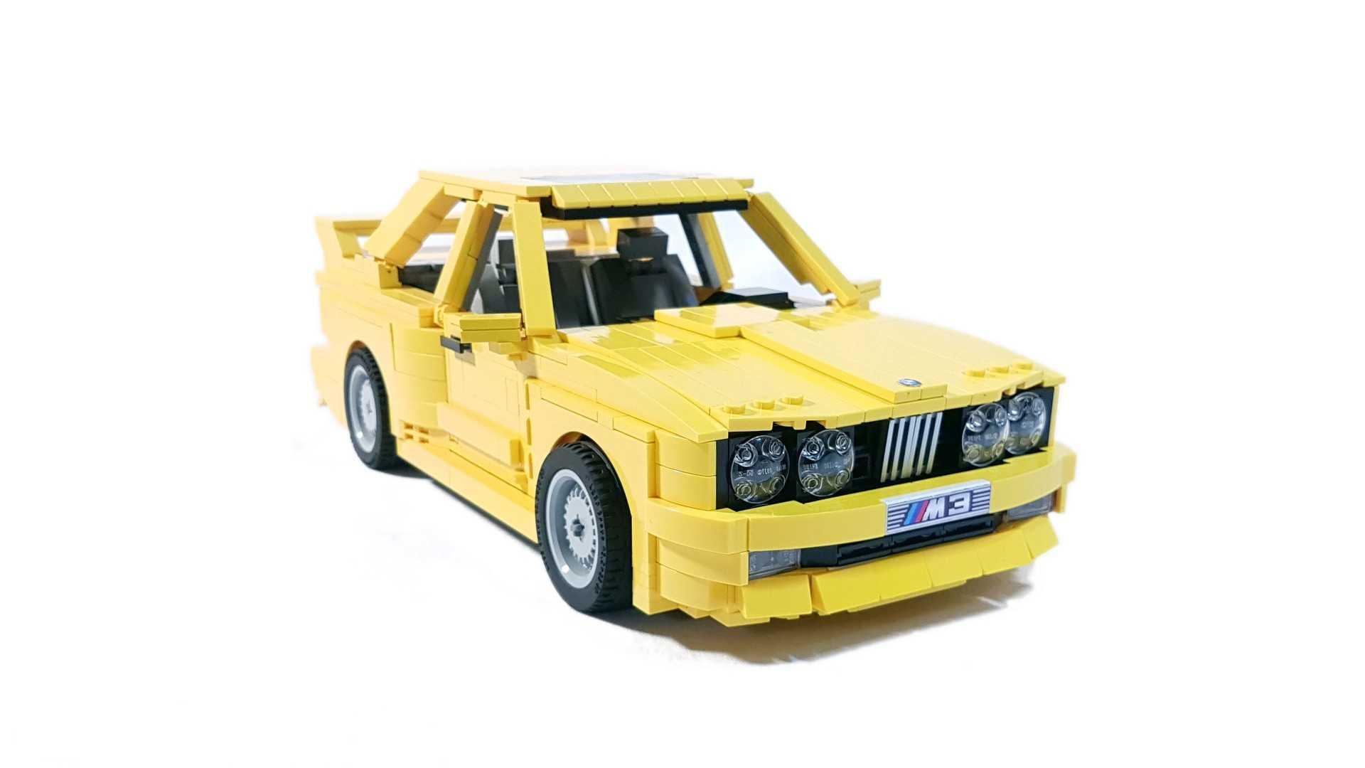 BMW E30 M3 Lego Ideas (26)