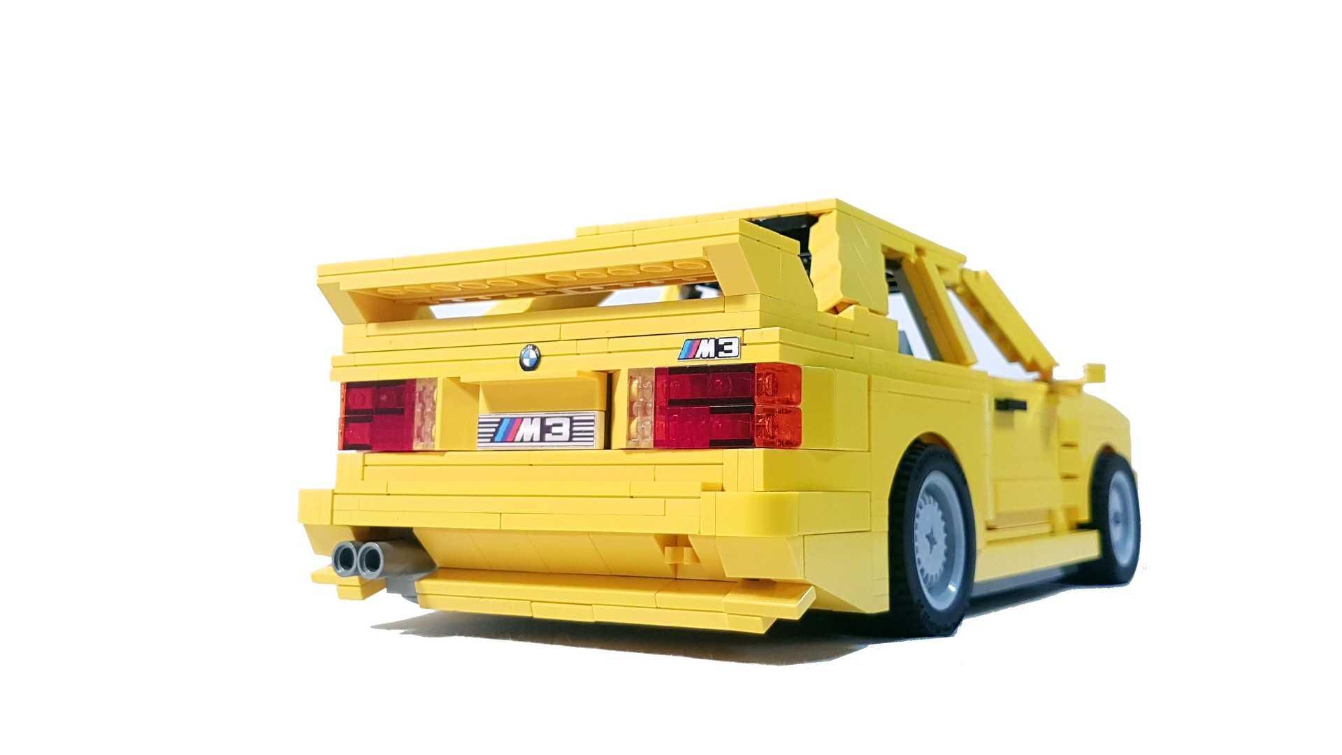 BMW E30 M3 Lego Ideas (27)