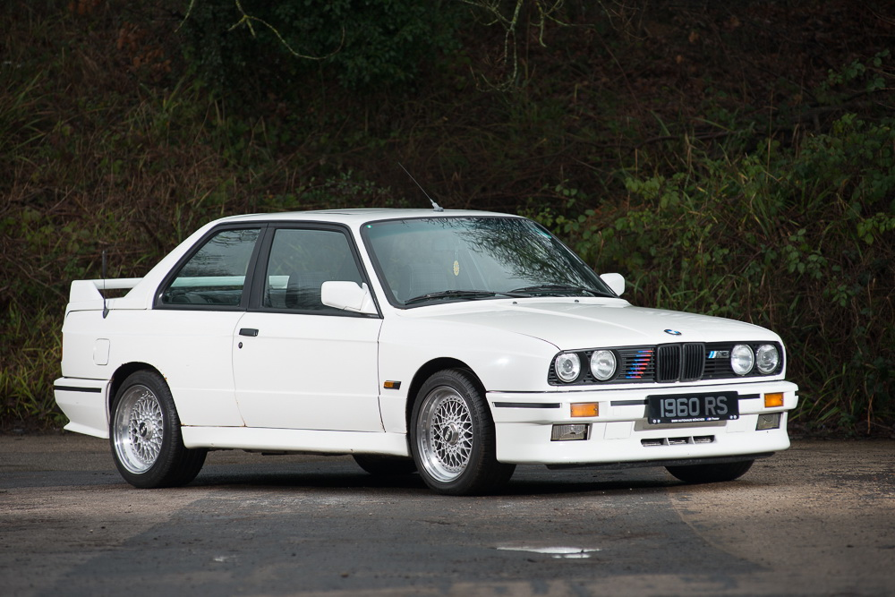BMW M3 E30 in auction