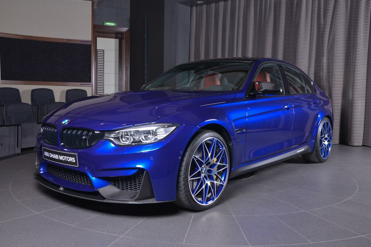 BMW M3 in San Marino Blue (1)