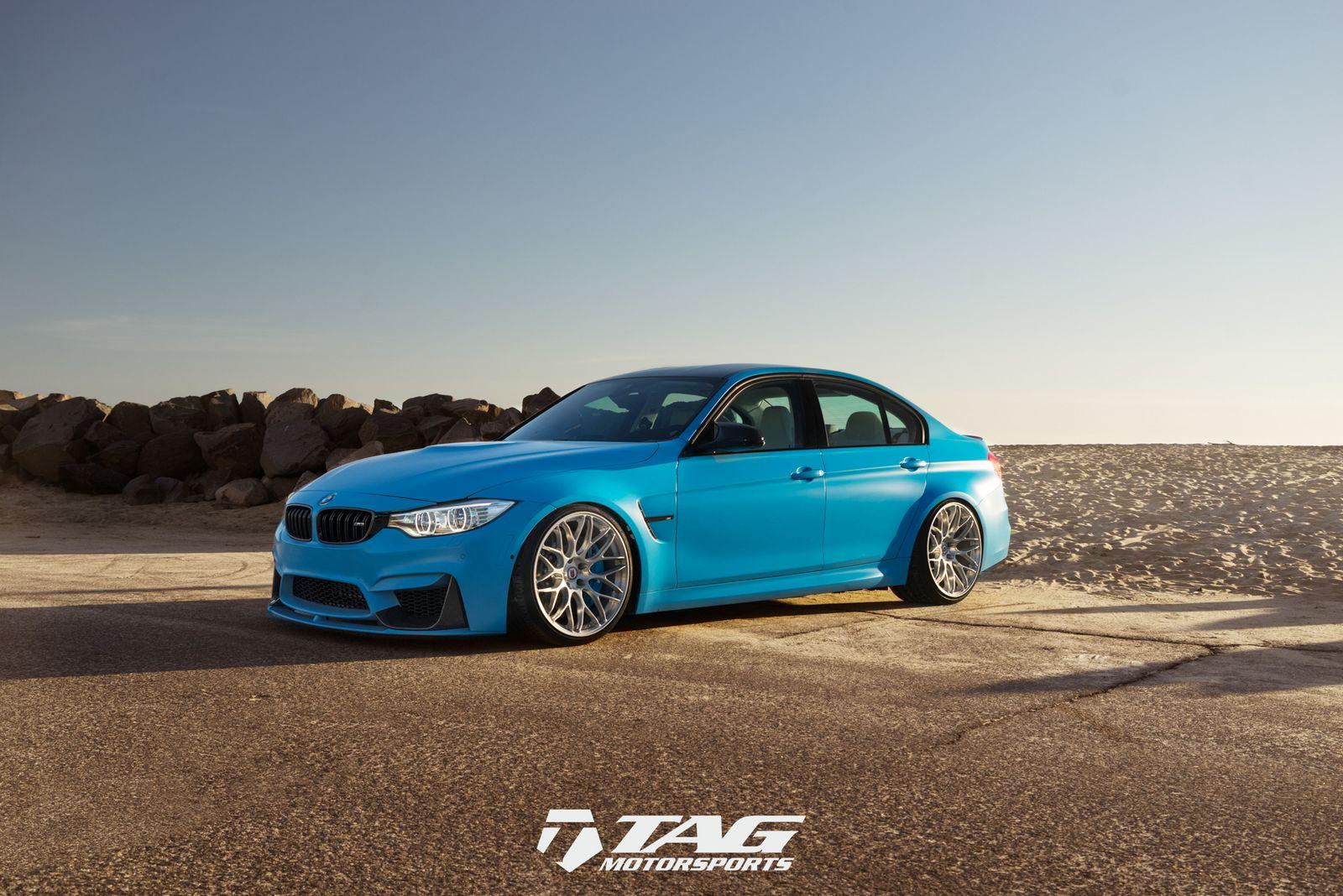 BMW M3 Riviera Blue (1)