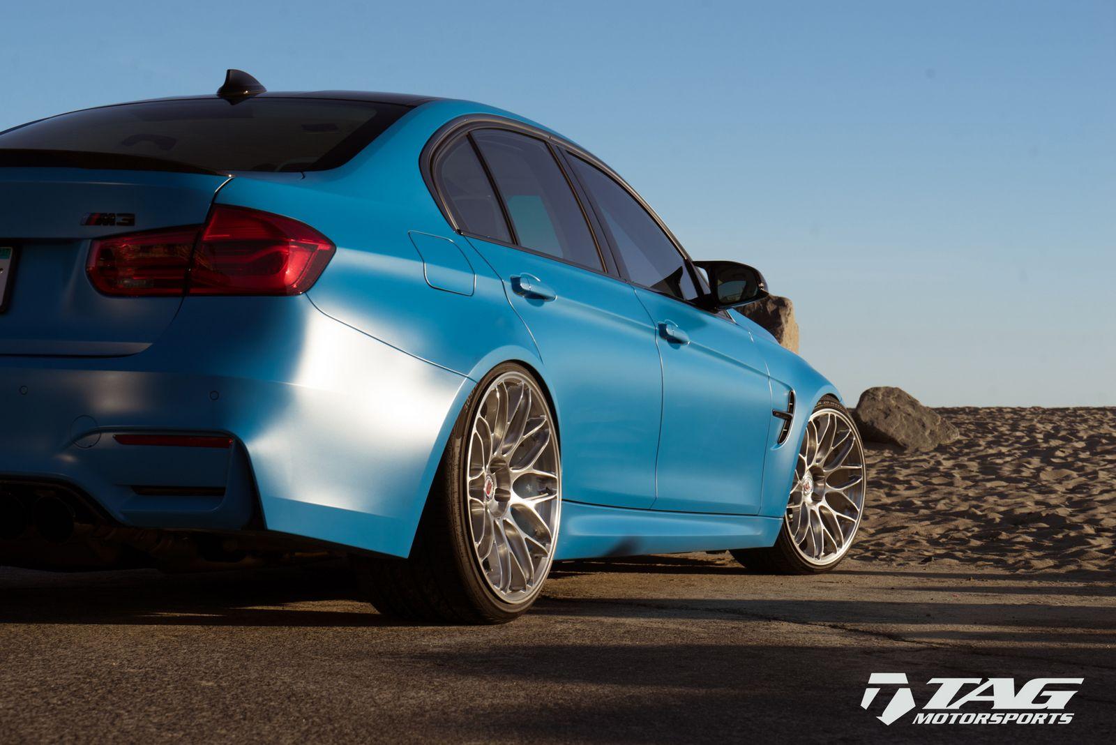 BMW M3 Riviera Blue (14)