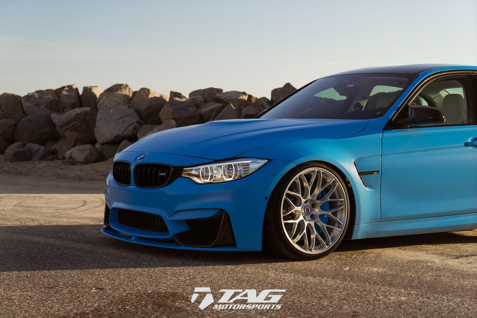 BMW M3 Riviera Blue (2)
