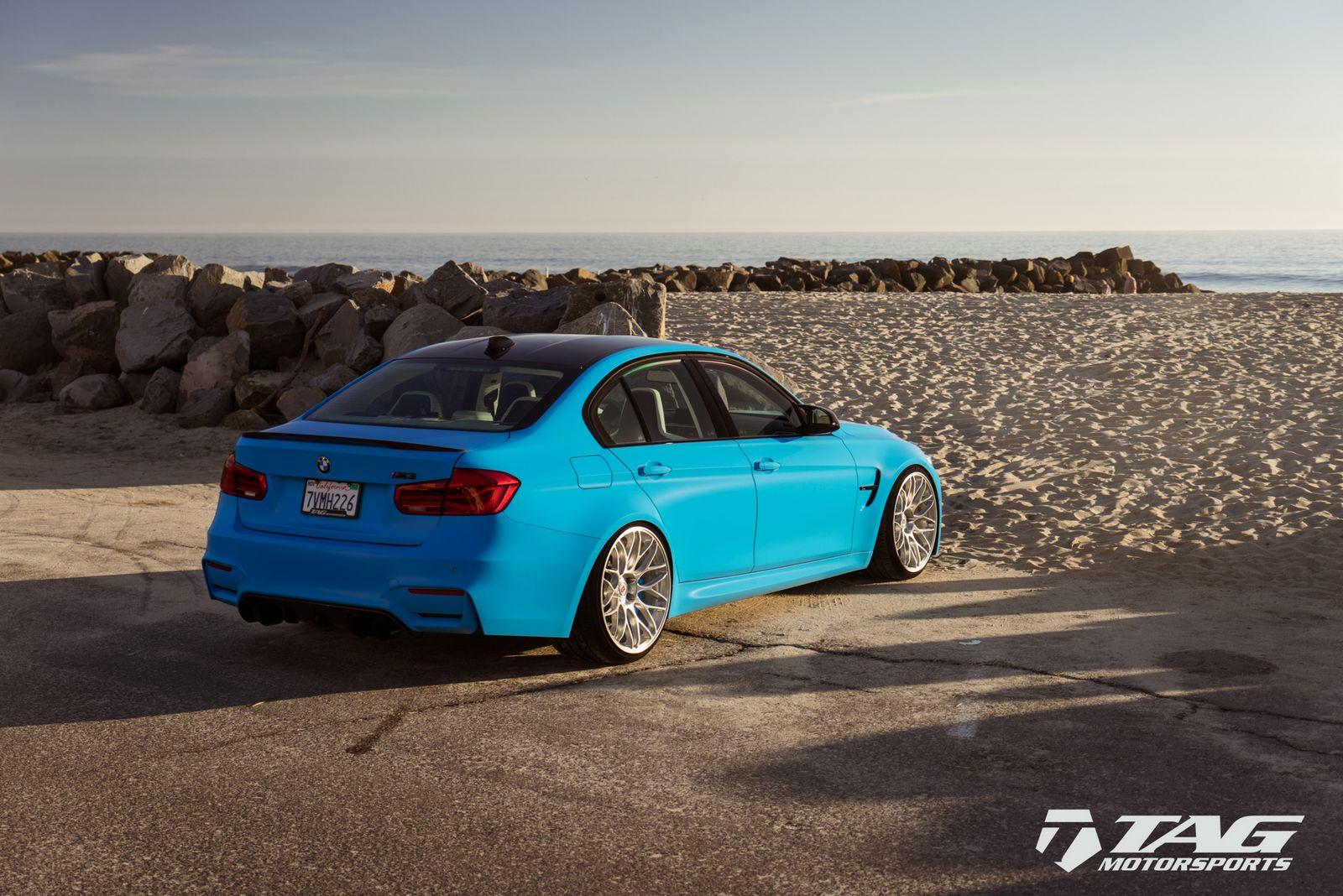 BMW M3 Riviera Blue (22)