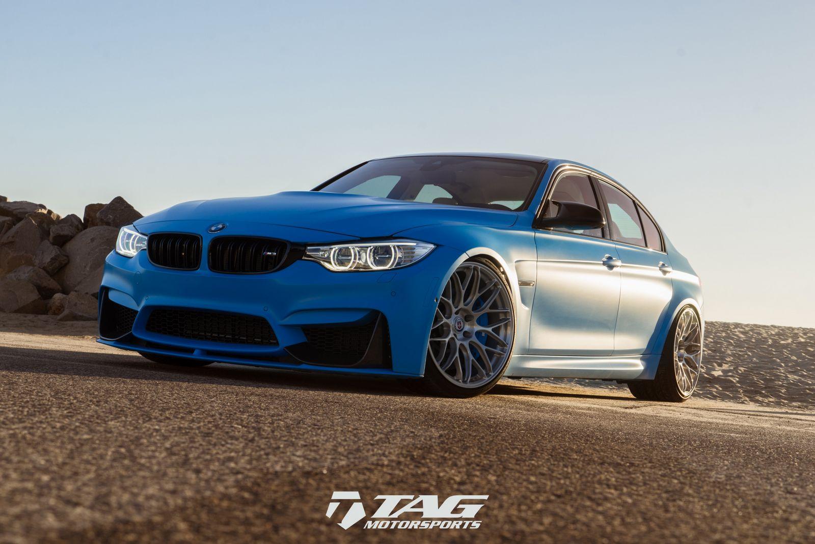 BMW M3 Riviera Blue (7)