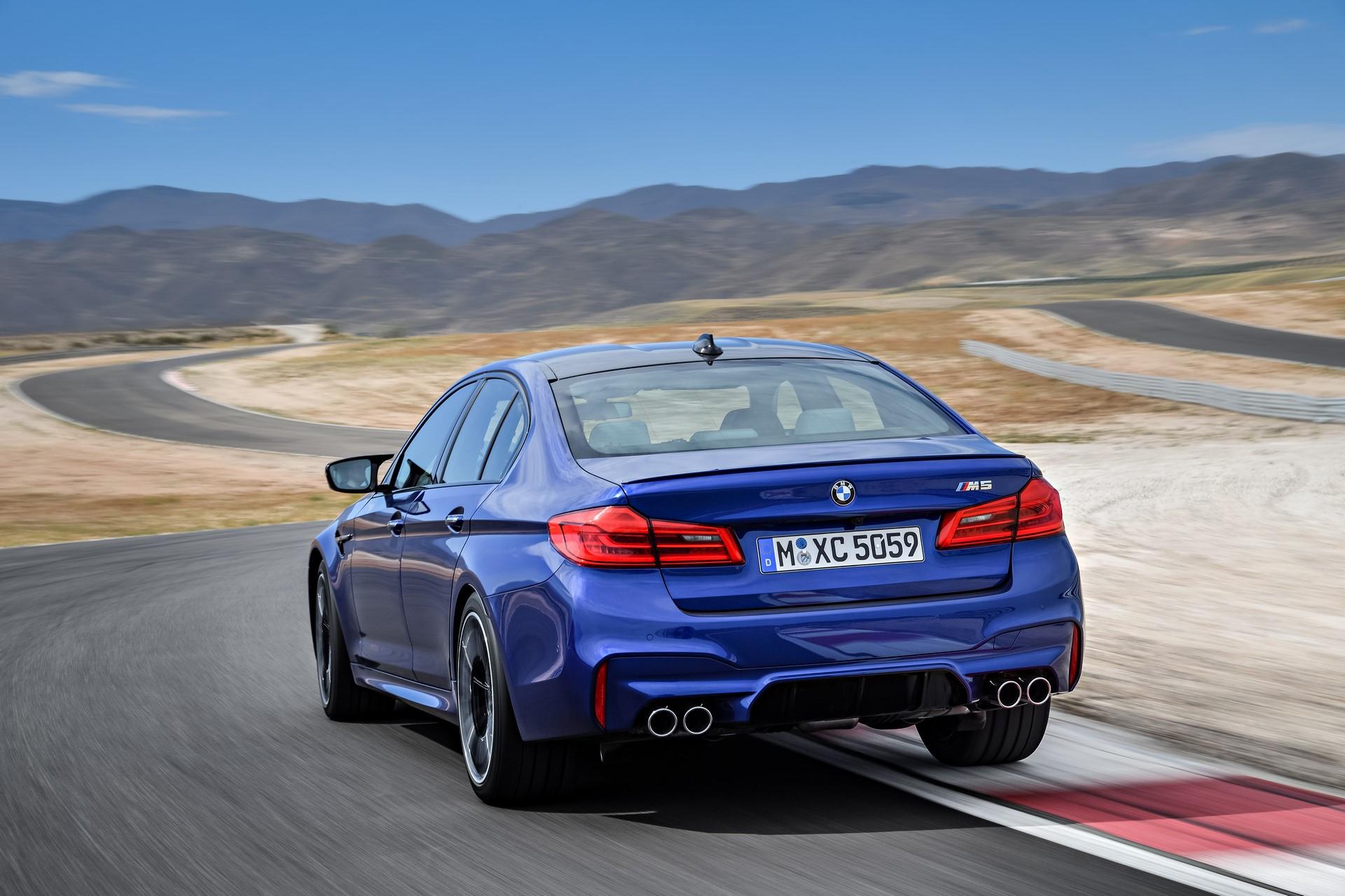 BMW M5 2018 (8)