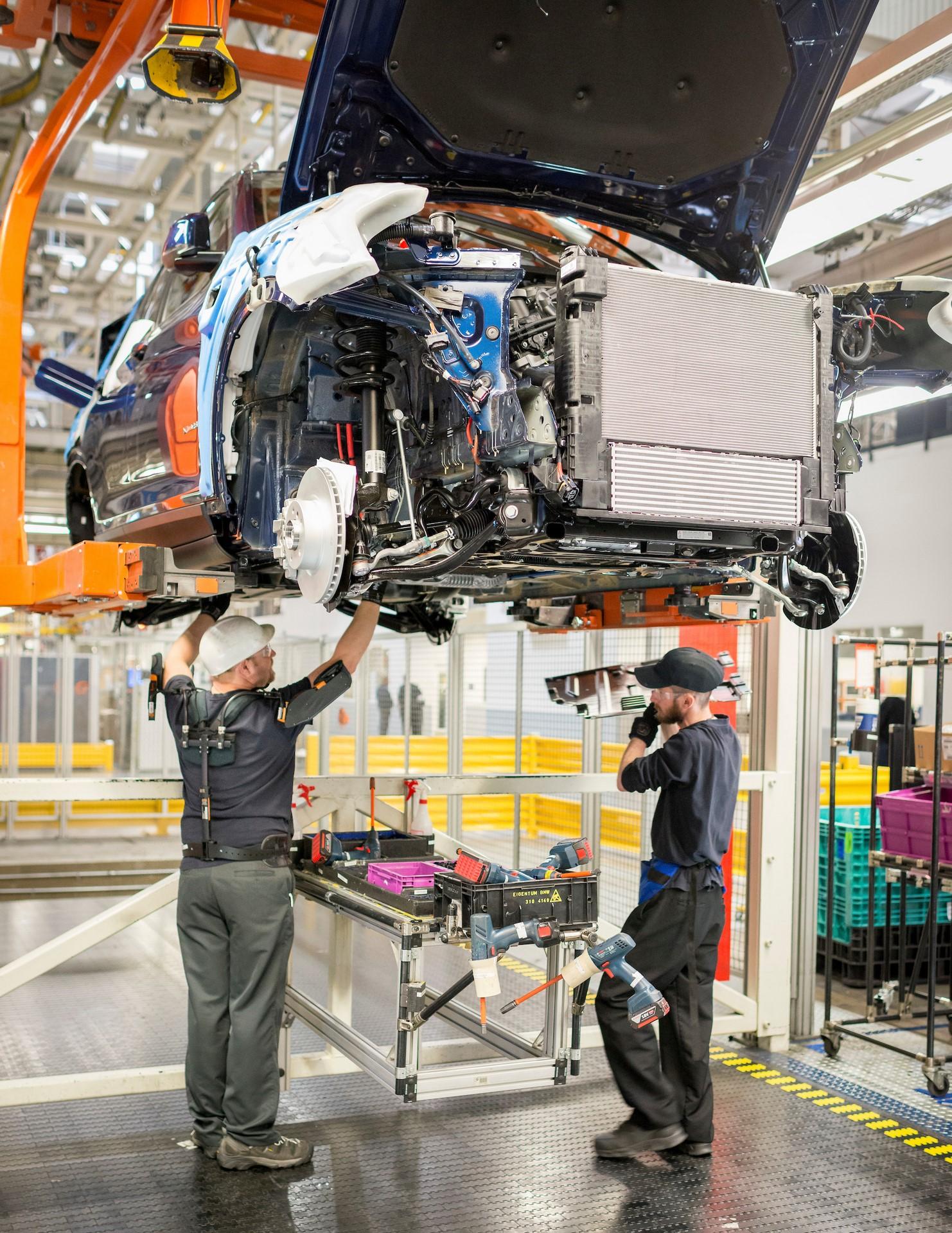 Exoskeleton vest in assembly on 3/15/17 - File: 031517GR34