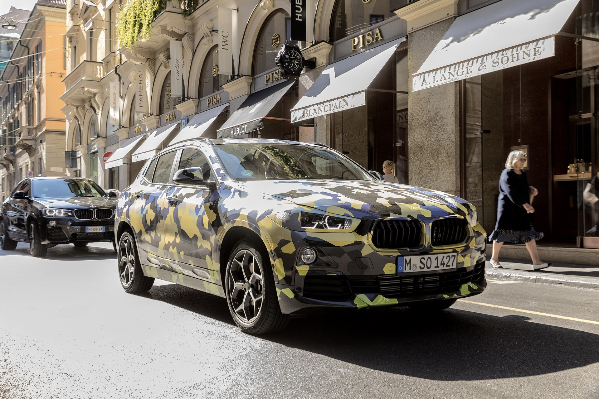 BMW X2 2018 Milan (1)