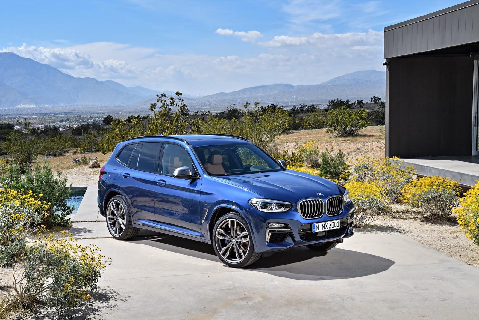 BMW X3 2018 (2)