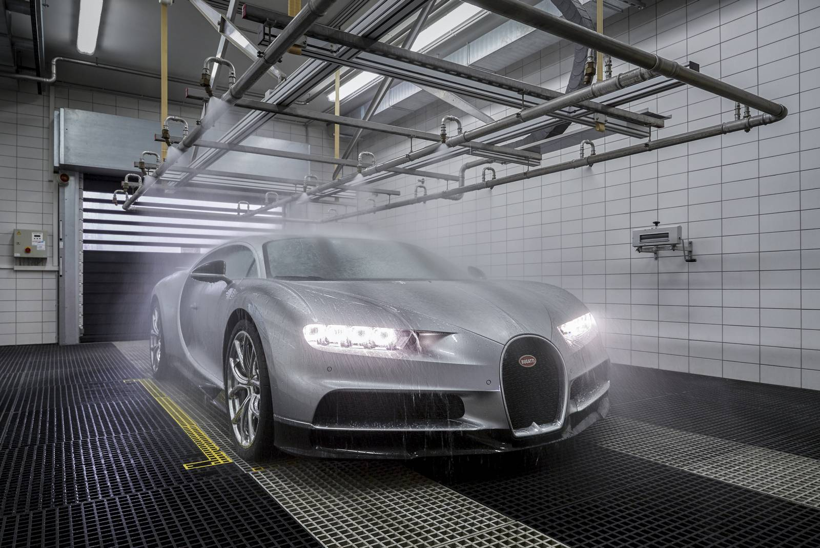 Bugatti Chiron production plant factory (11)