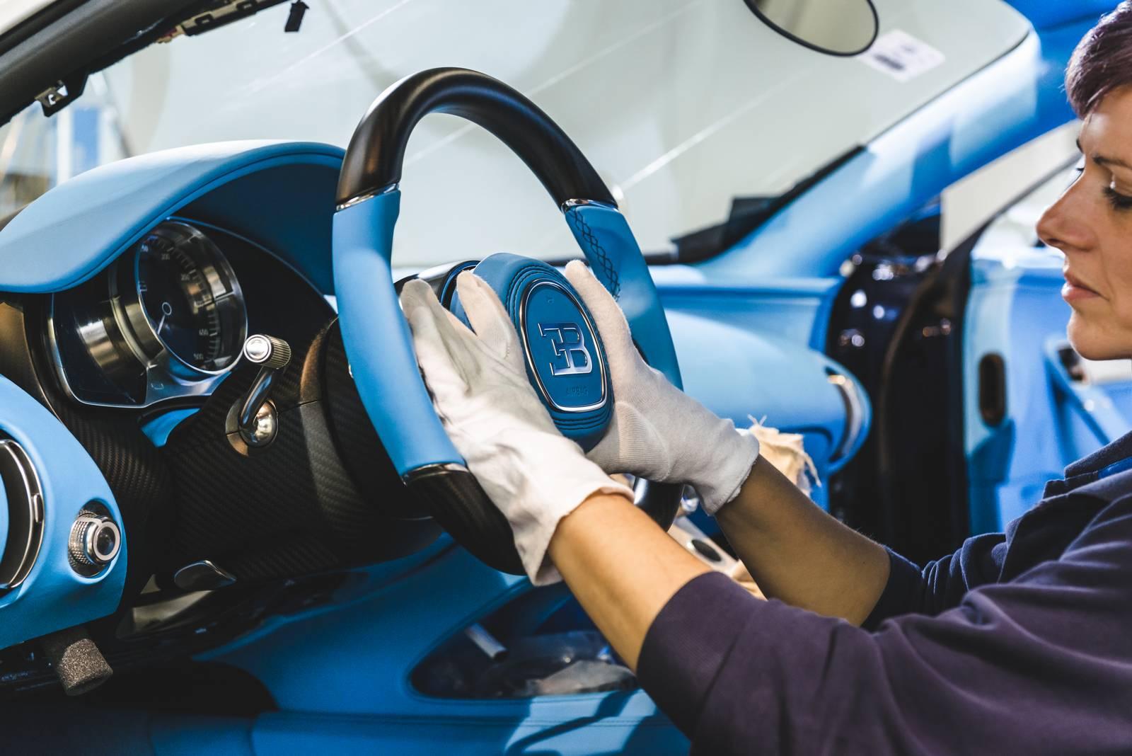 Bugatti Chiron production plant factory (12)
