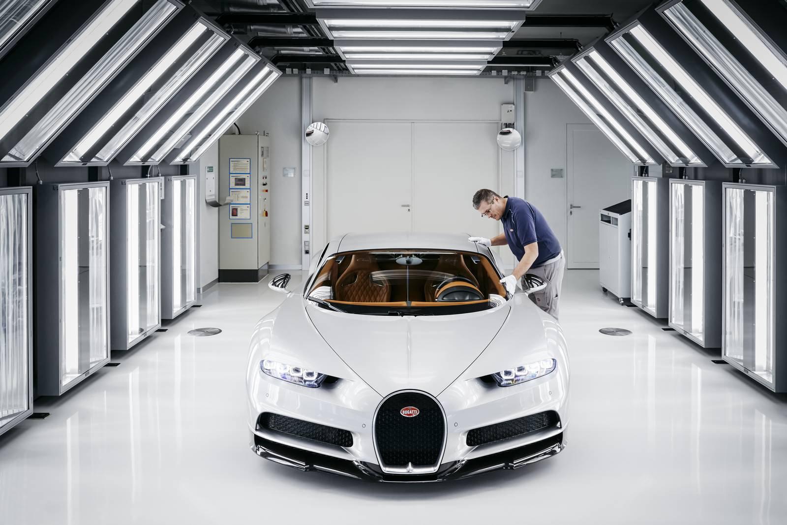 Bugatti Chiron production plant factory (14)