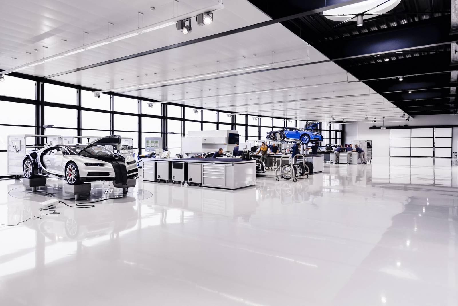 Bugatti Chiron production plant factory (2)