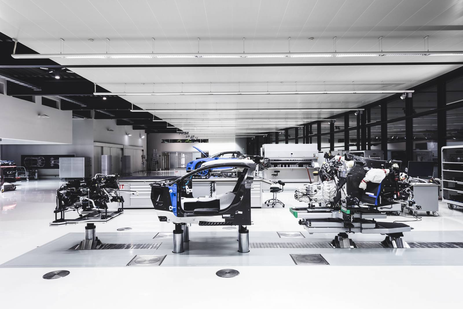 Bugatti Chiron production plant factory (6)