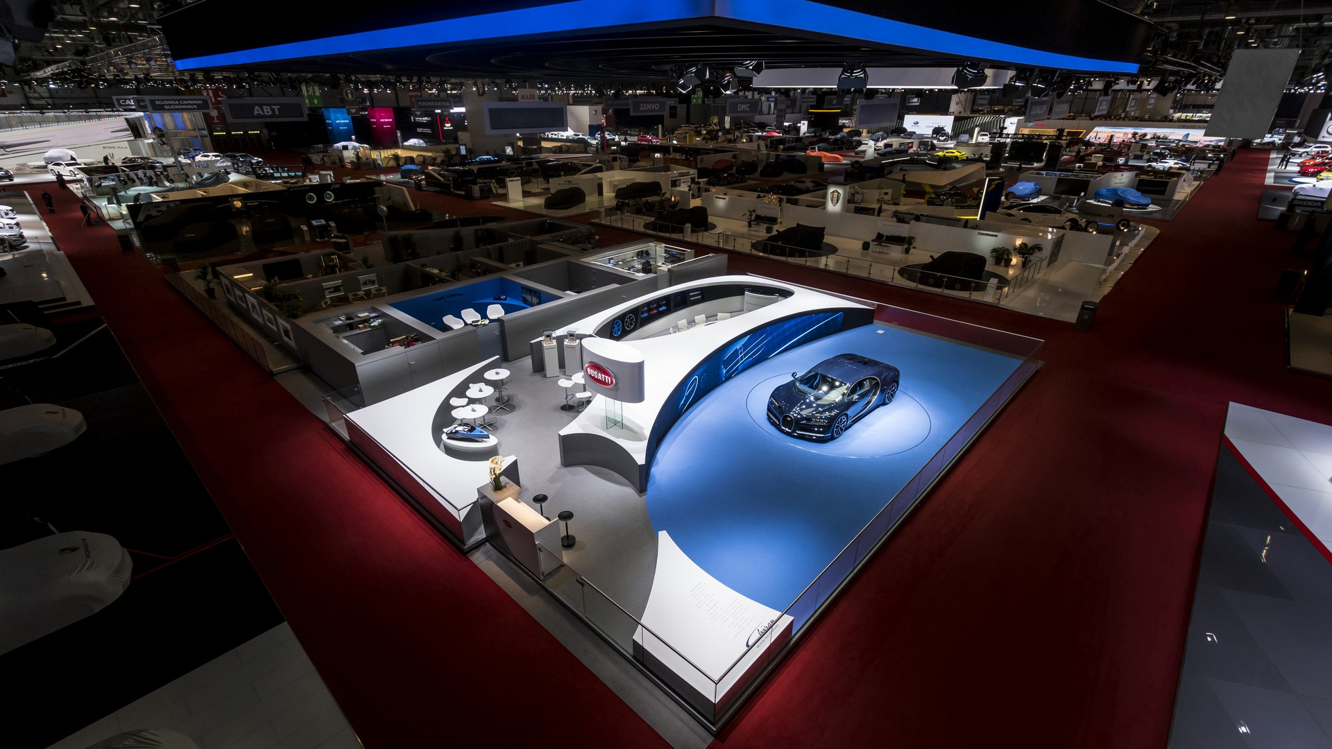 Bugatti stand at the Geneva Motor Show 2017 (1)