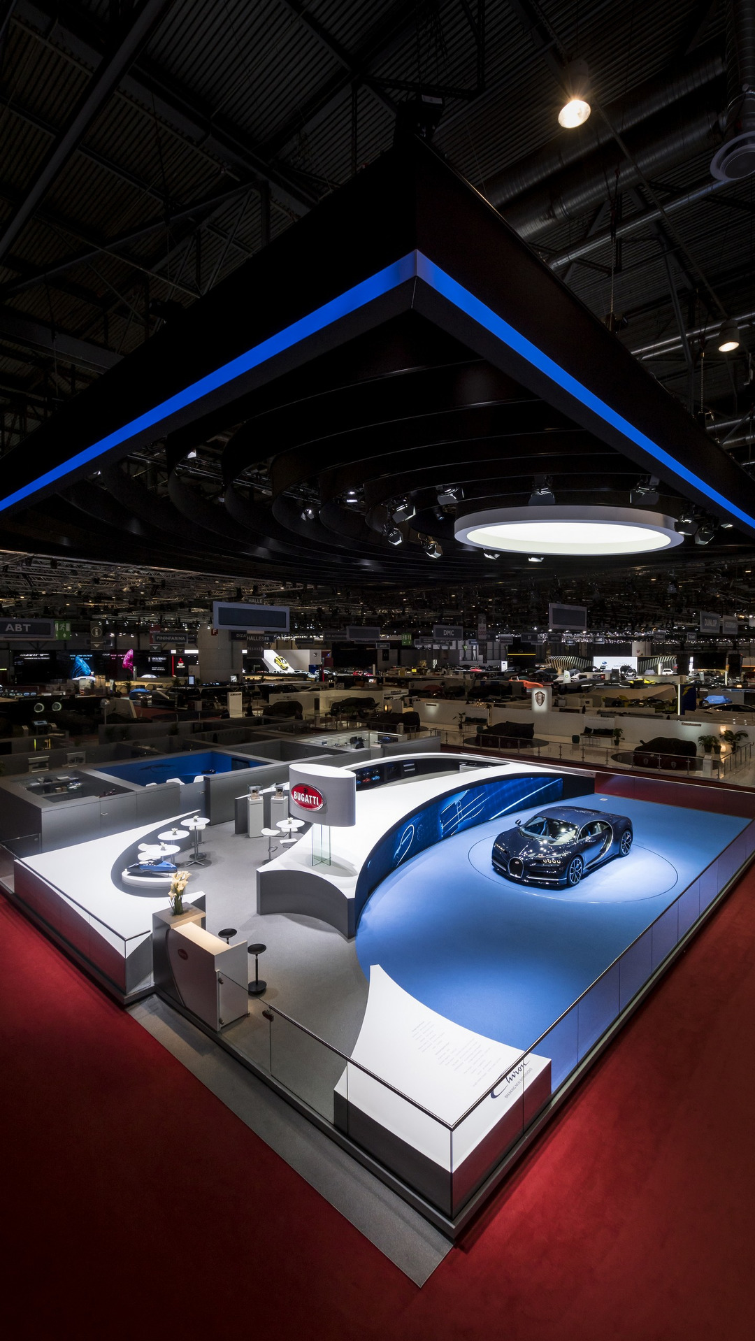 Bugatti stand at the Geneva Motor Show 2017 (4)