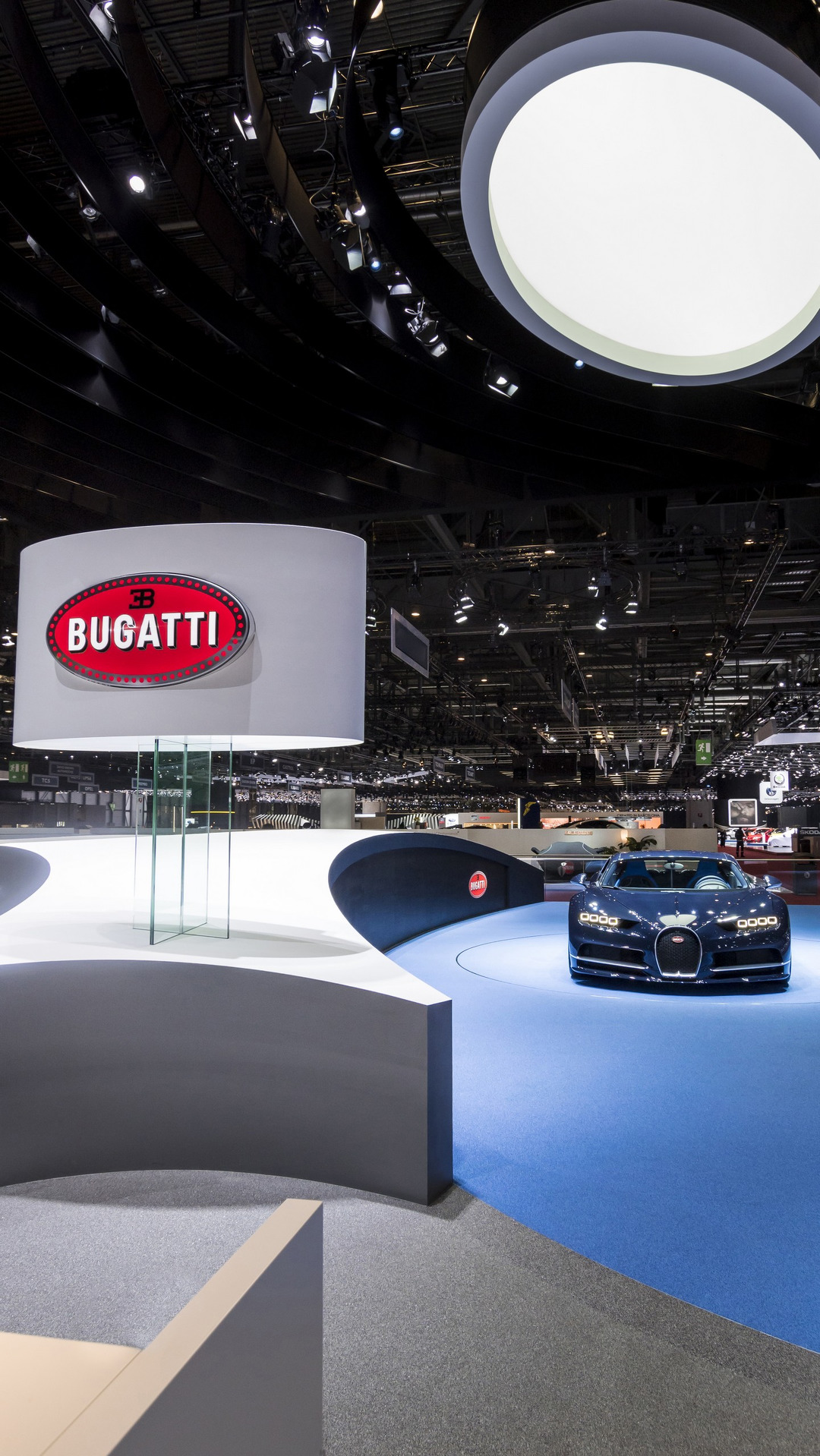 Bugatti stand at the Geneva Motor Show 2017 (5)
