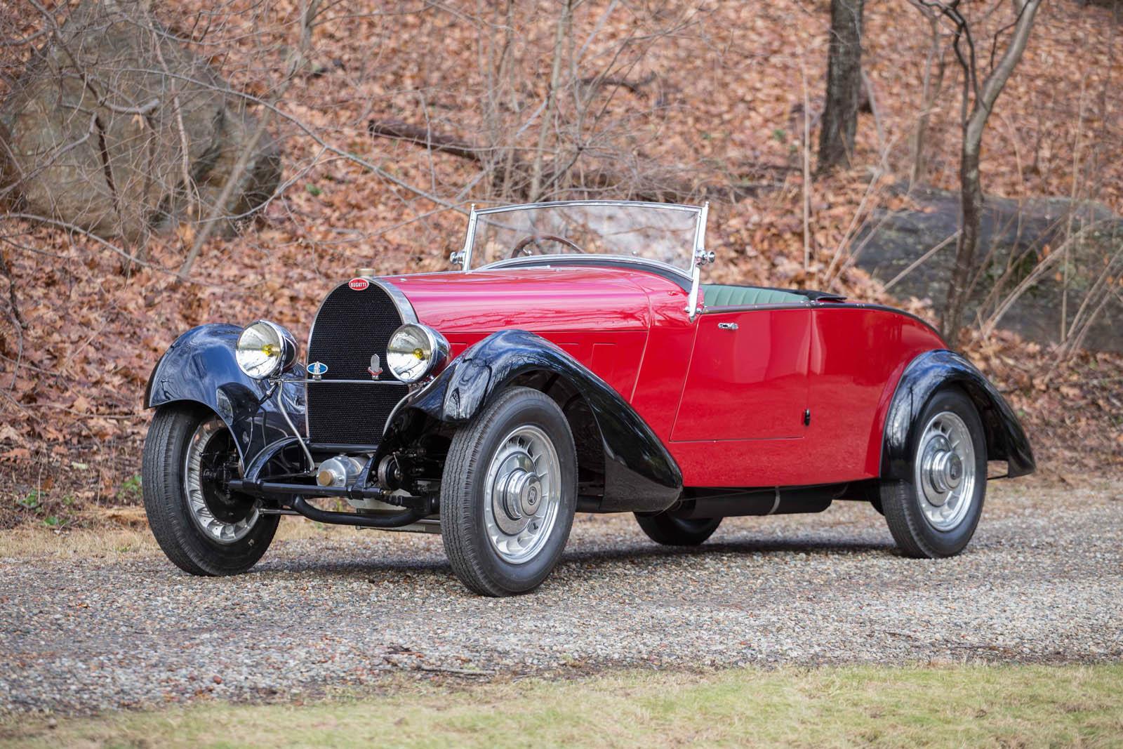 Bugatti Type 49 roadster 1