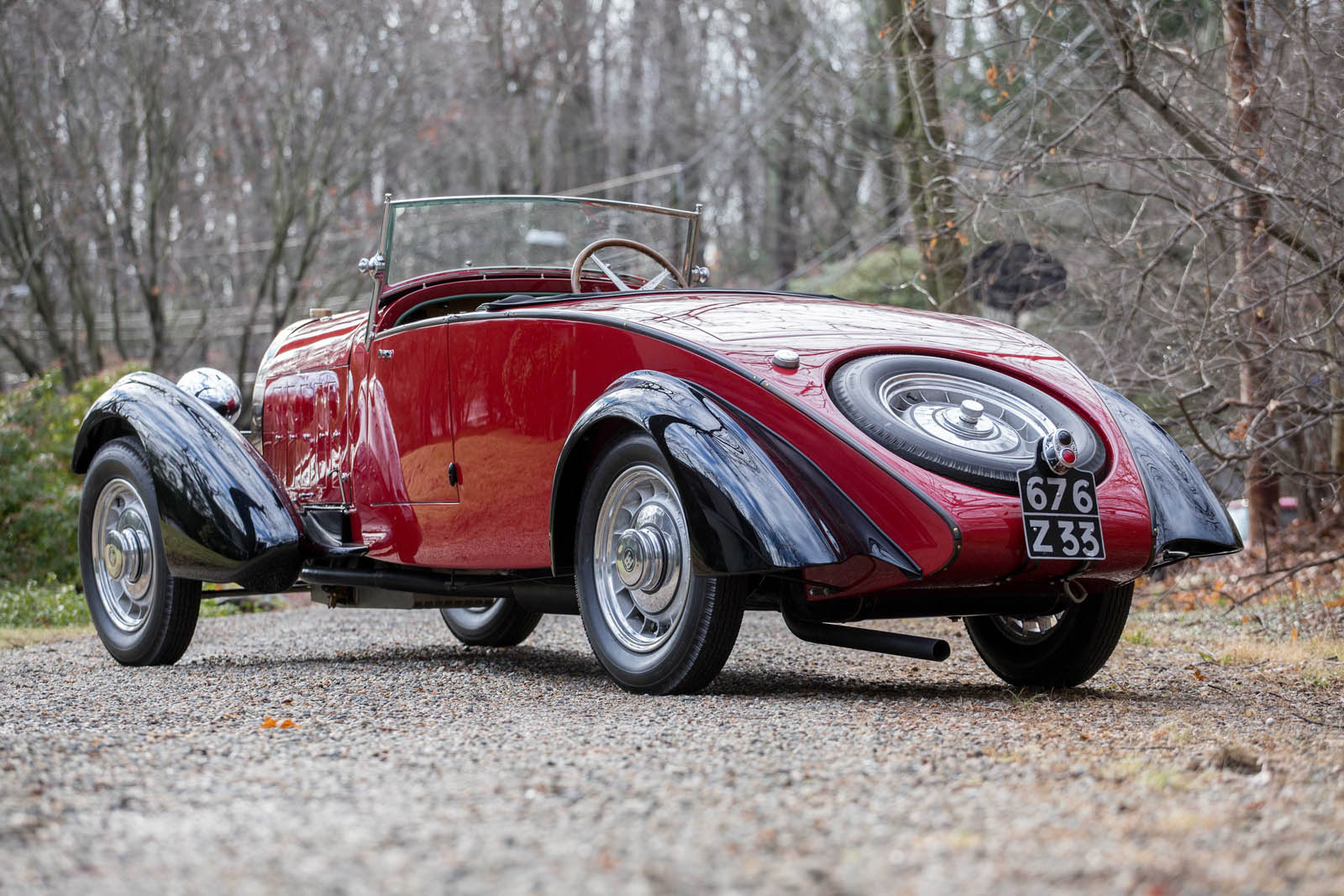 Bugatti Type 49 roadster 2