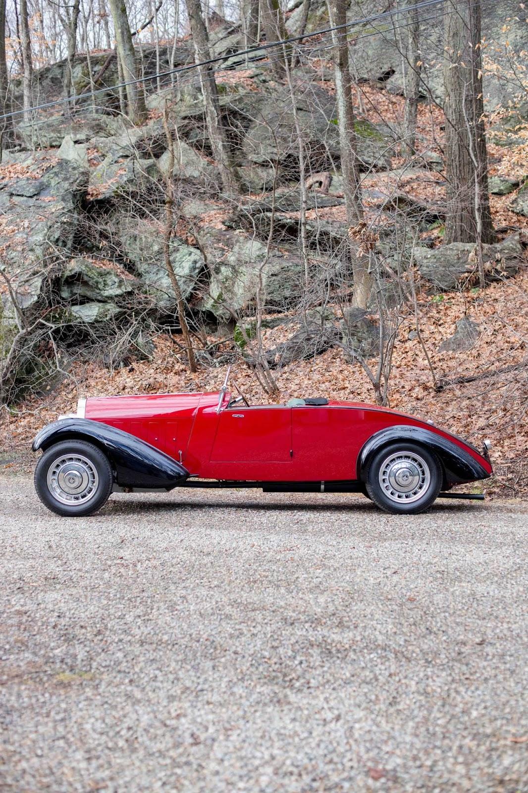 Bugatti Type 49 roadster 3
