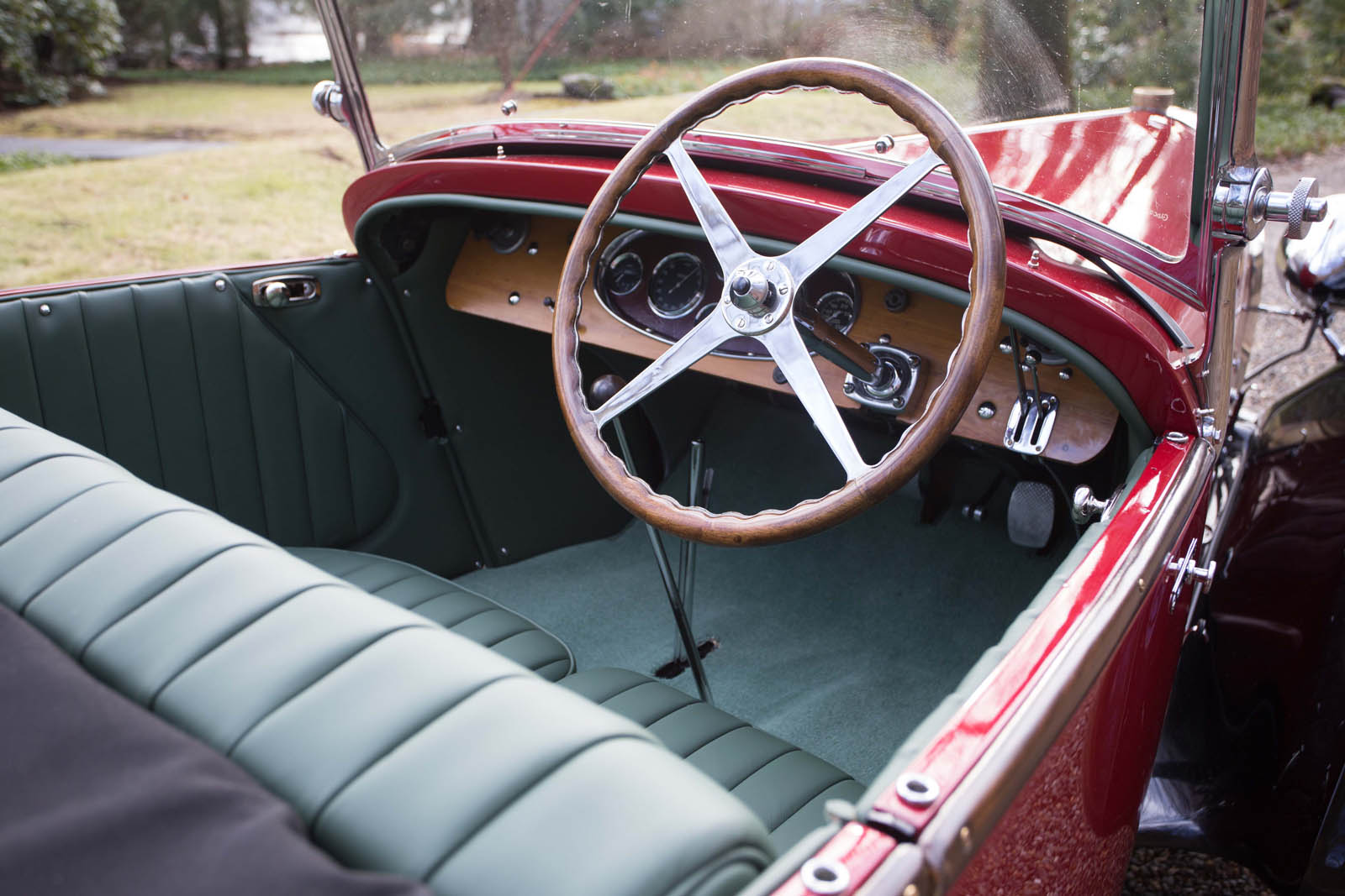 Bugatti Type 49 roadster 4