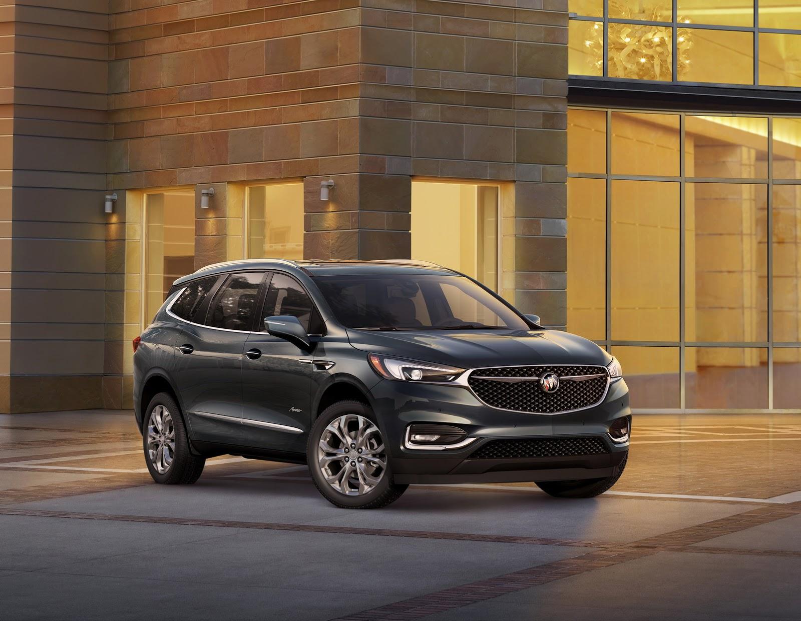 Buick Enclave Avenir 2018 (1)