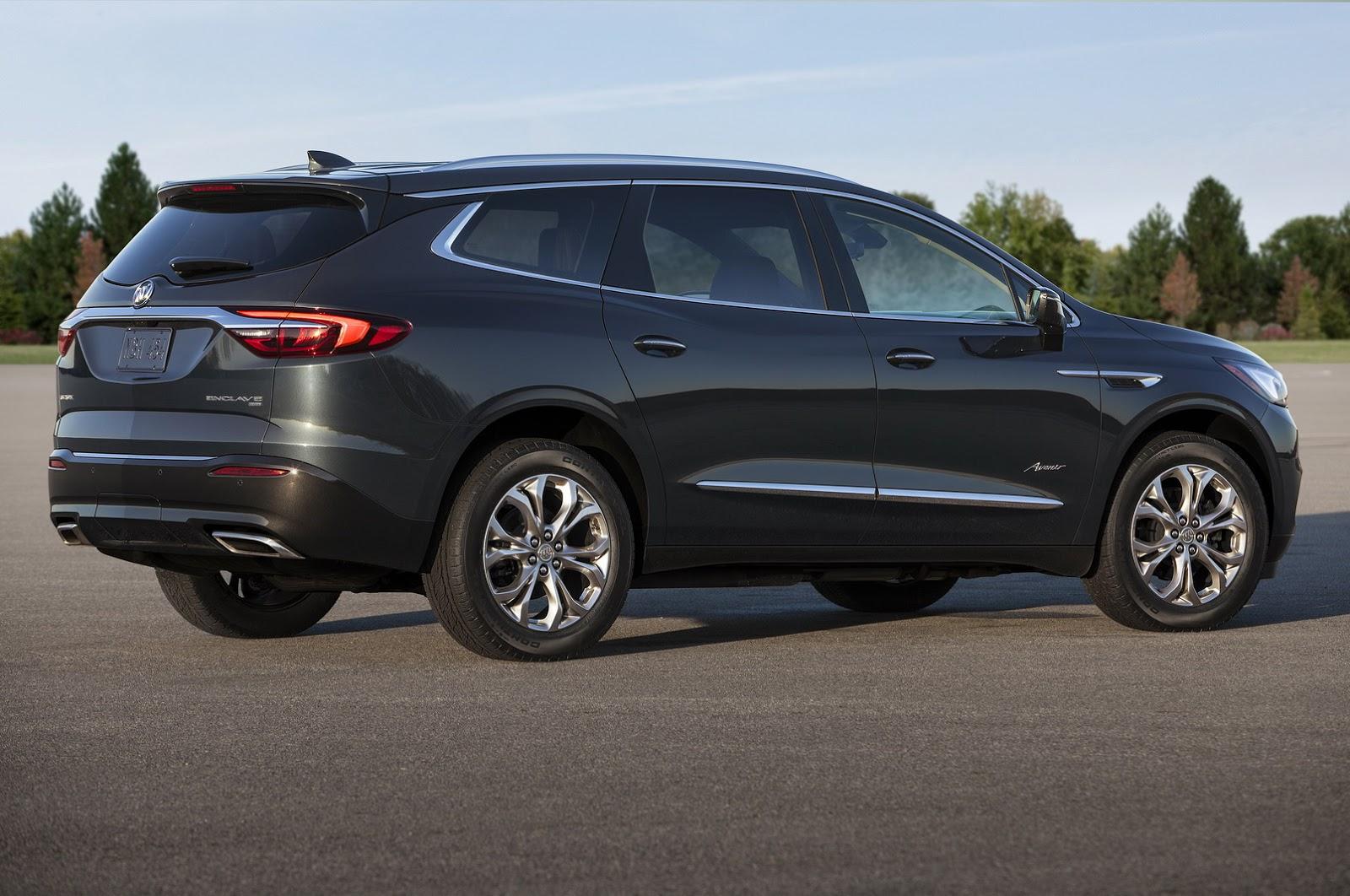 Buick Enclave Avenir 2018 (2)