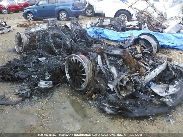 Burned Lamborghini Huracan for sale (1)