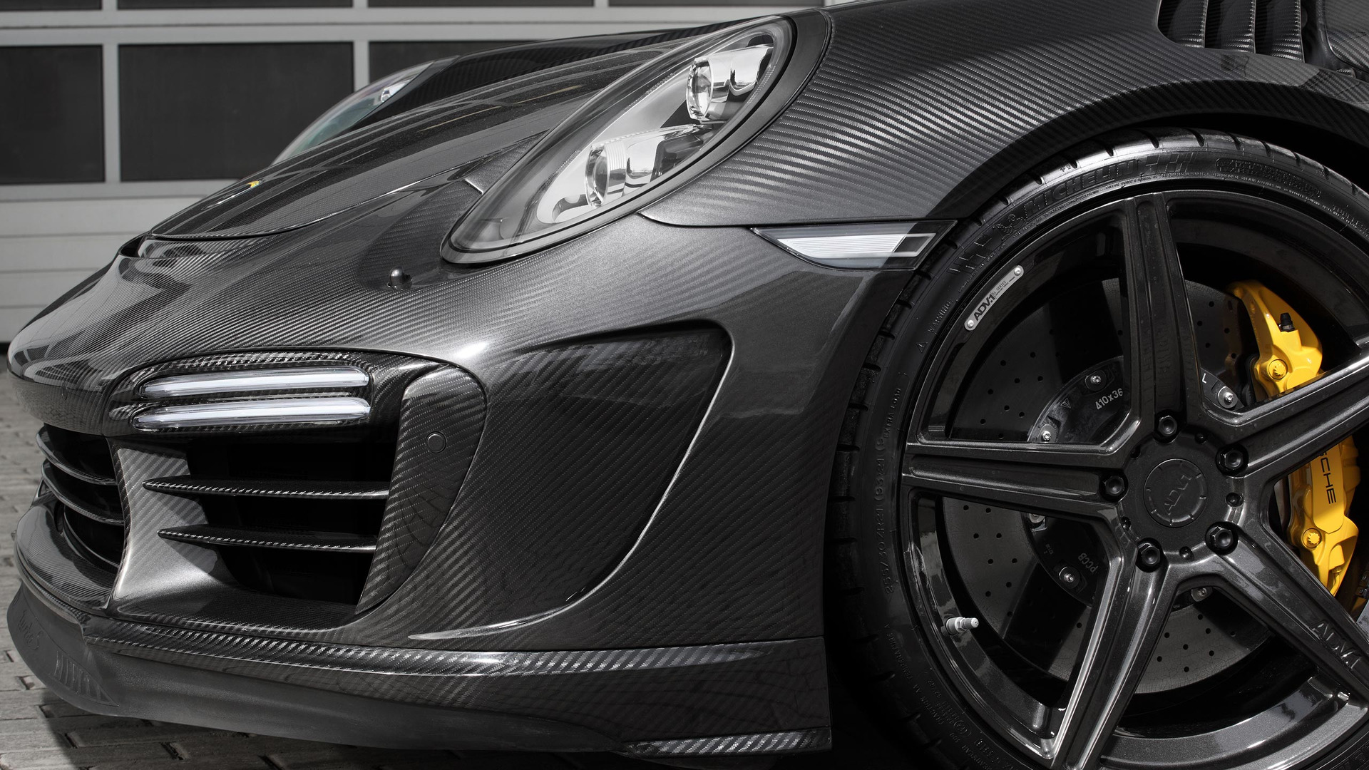 Carbon Porsche 911 Turbo Topcar (9)