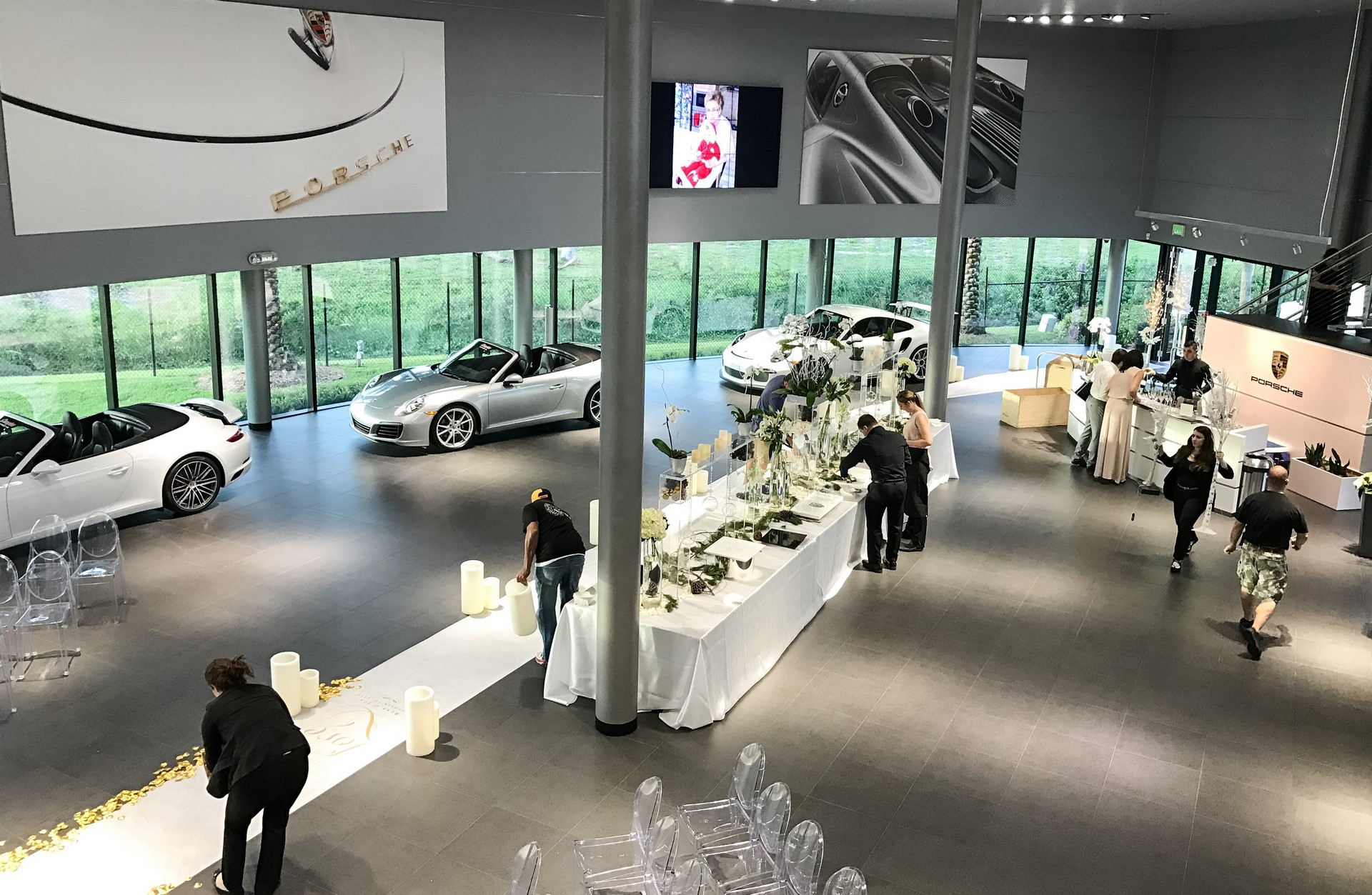 Champion Porsche wedding (4)