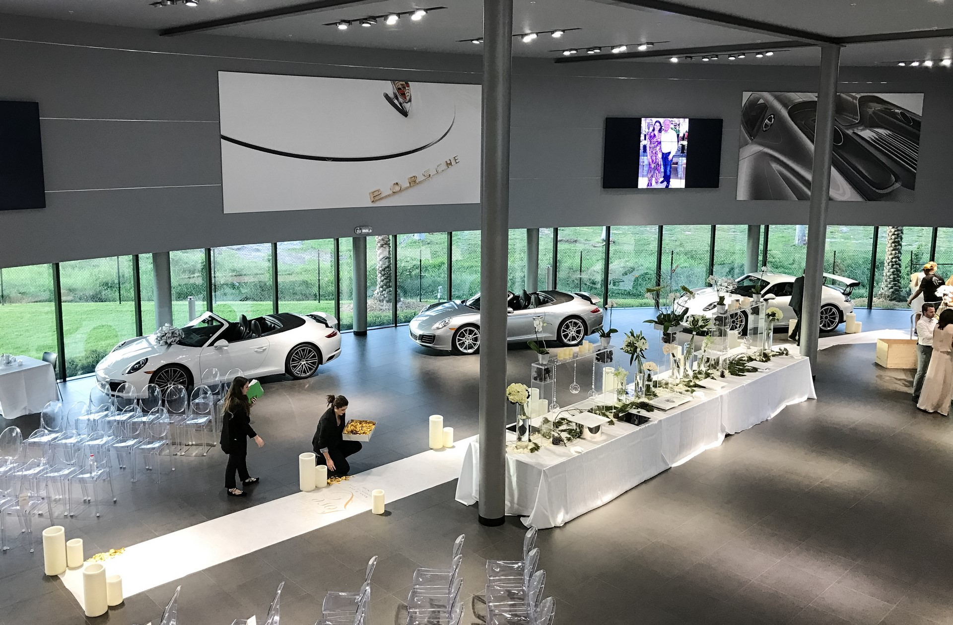 Champion Porsche wedding (5)