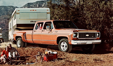 Chevy 1973 C30 One-Ton Dually