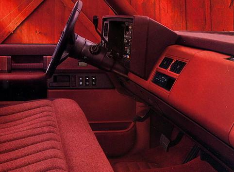 Chevy 1988 K1500 Sportside Silverado